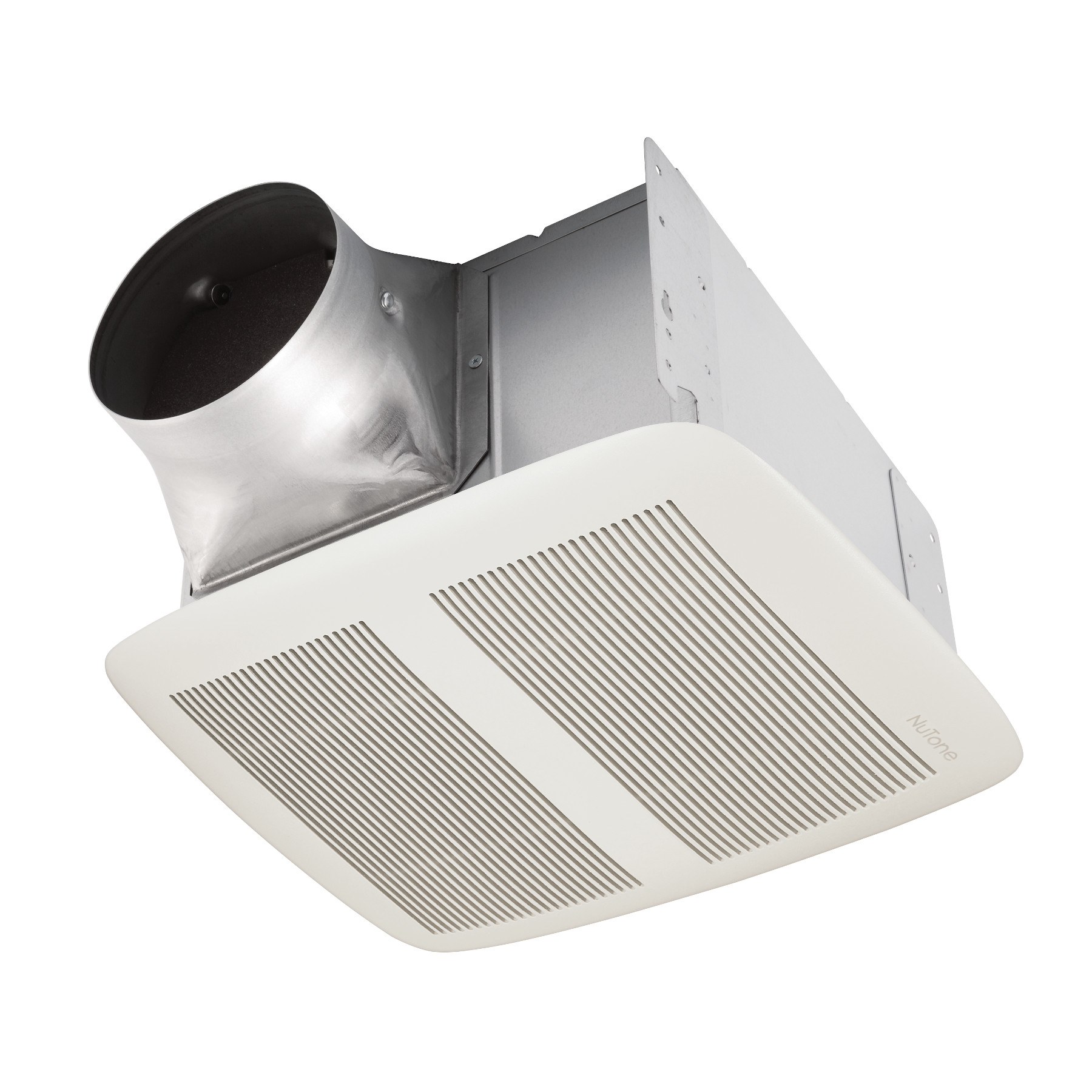 NuTone® QTXE 150 CFM Ventilation Fan with White Grille, 1.4 Sones; ENERGY STAR®