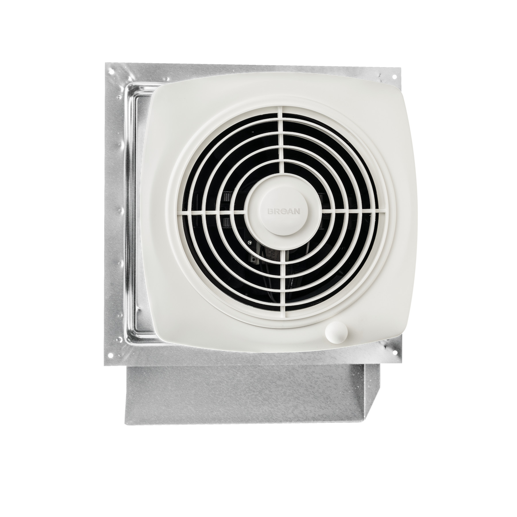 Broan® 8-Inch Through Wall Exhaust Vent Fan, 180 CFM