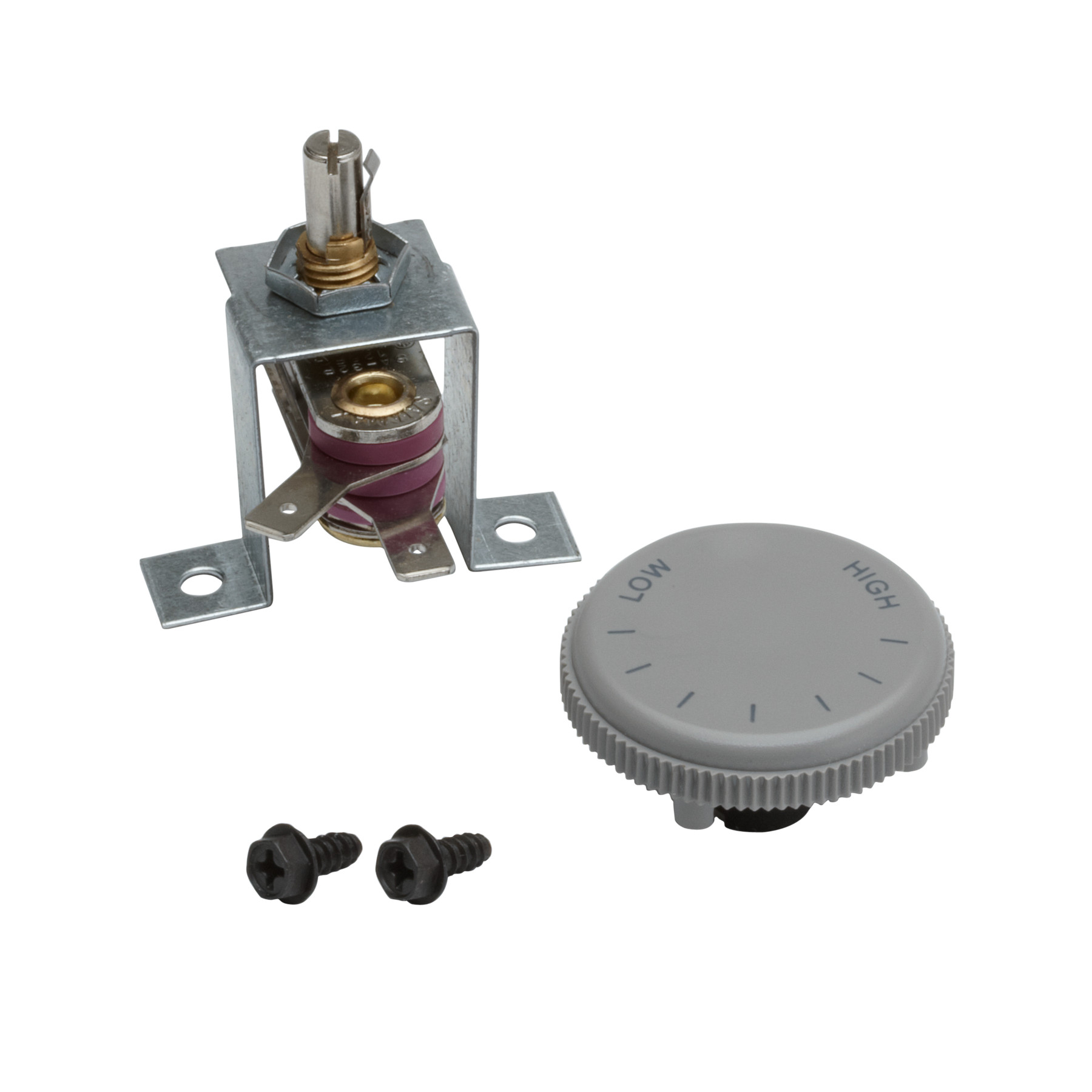 Broan® Thermostat Kit. Rated 120/240VAC, 12.5 amps. Temperature range 40° – 125° F