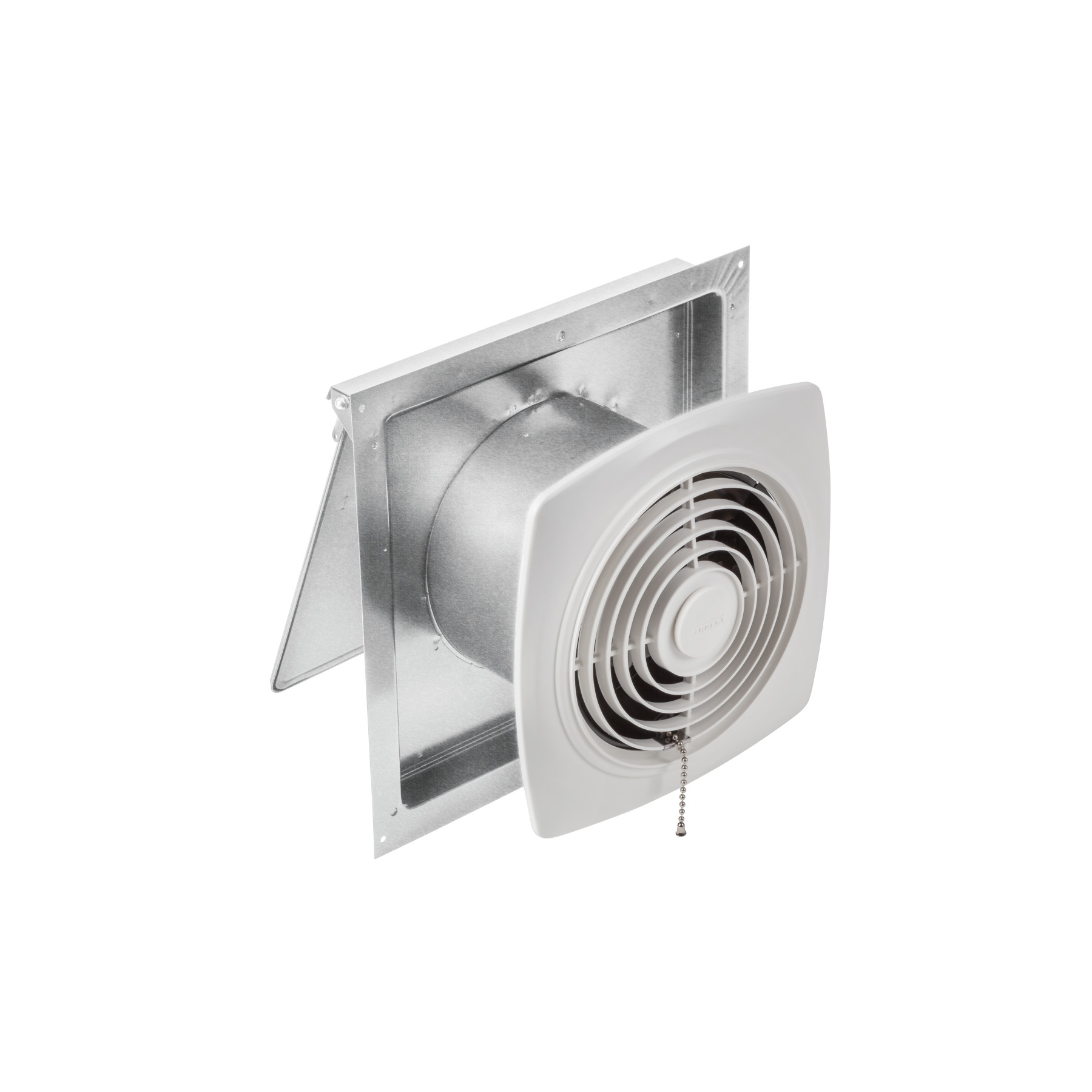 Broan® 8-Inch Chain-Operated Wall Exhaust Vent Fan, 250 CFM