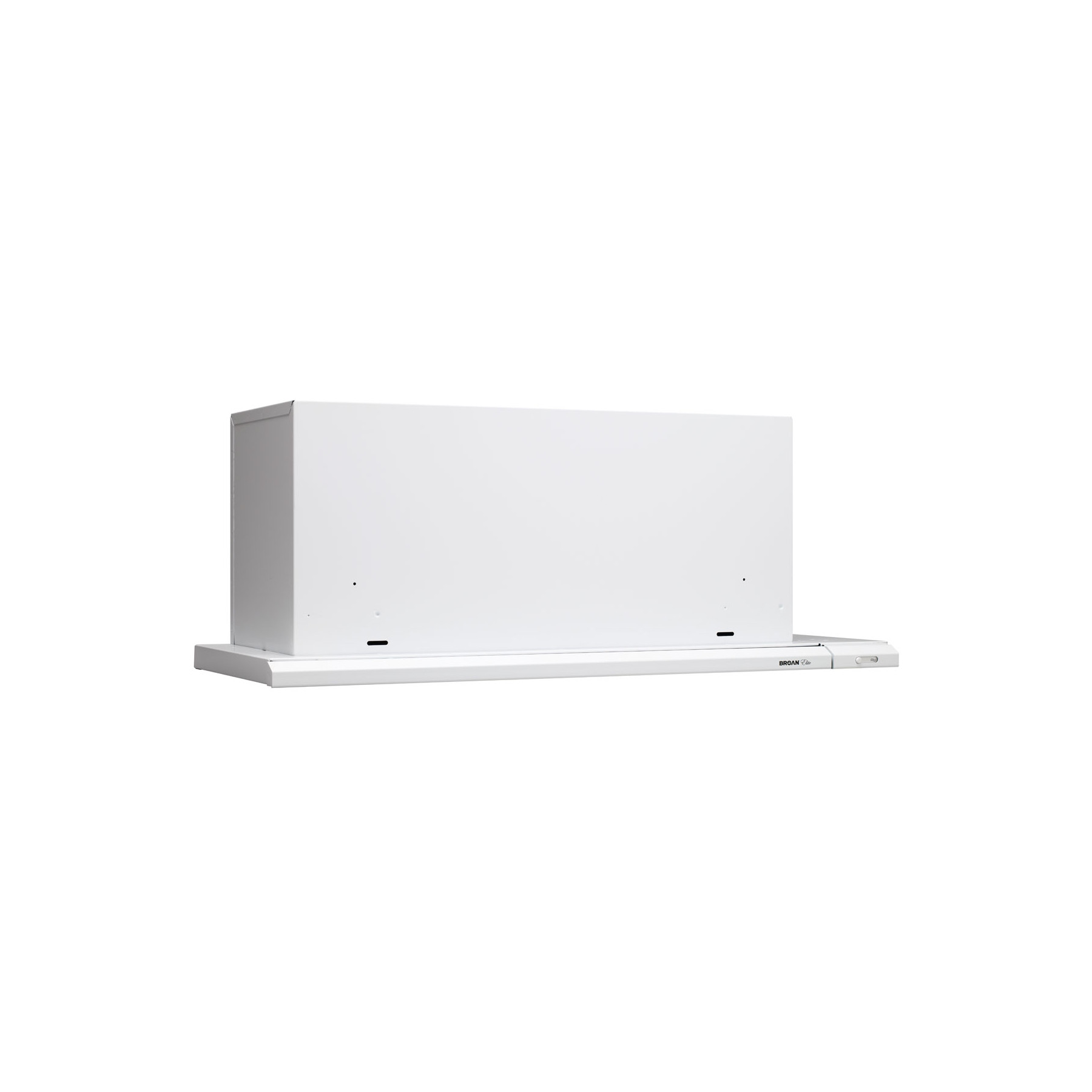 Broan® Elite 36-Inch Under-Cabinet Slide-Out Range Hood w/ Light, White
