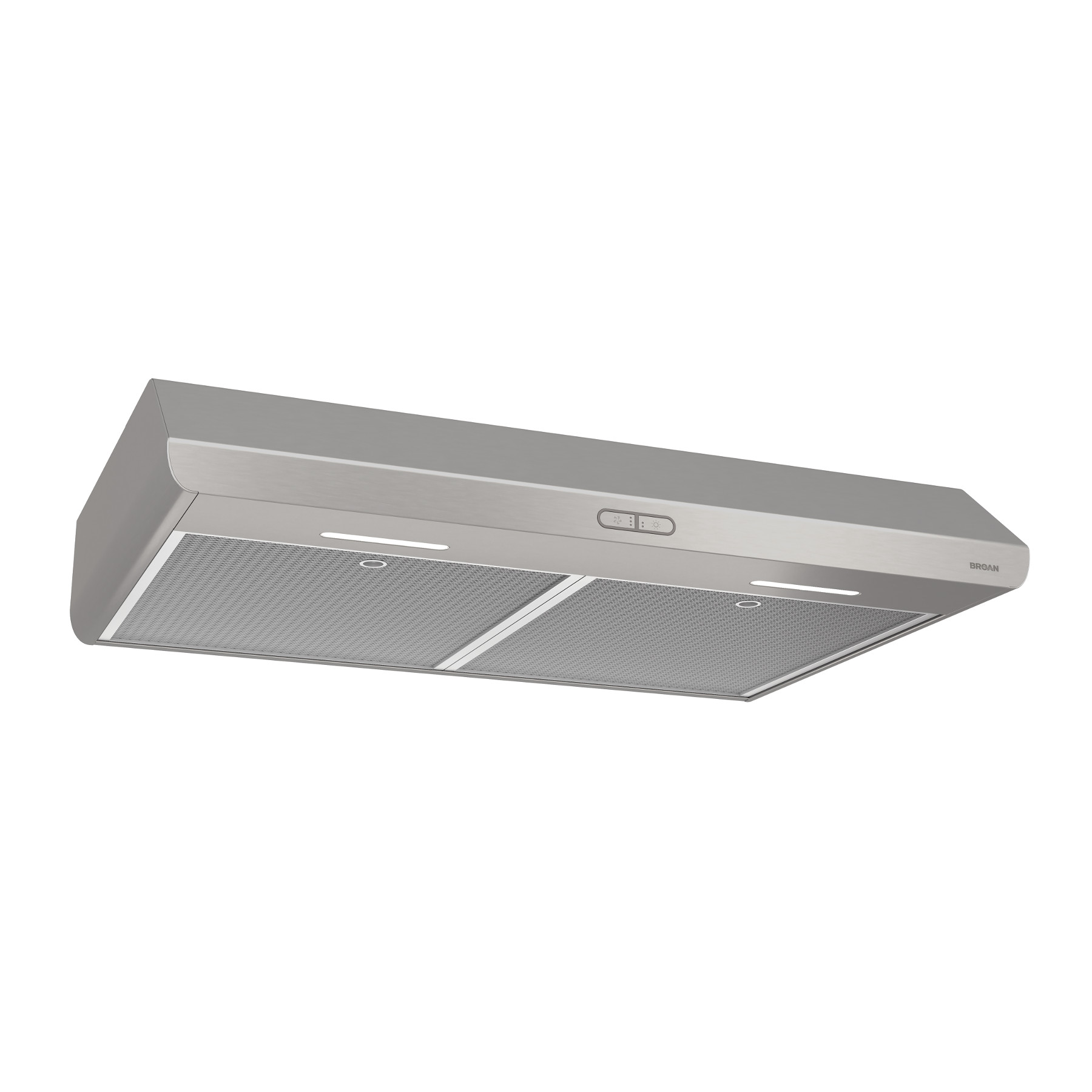 Broan® 30-Inch Under-Cabinet Range Hood, 300 CFM, Stainless steel