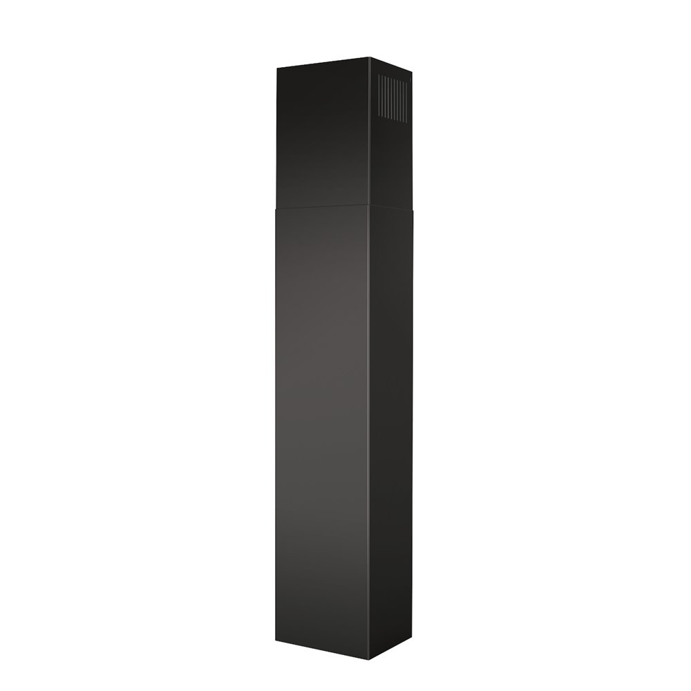 Non-Ducted flue ext. Black SS for EW48