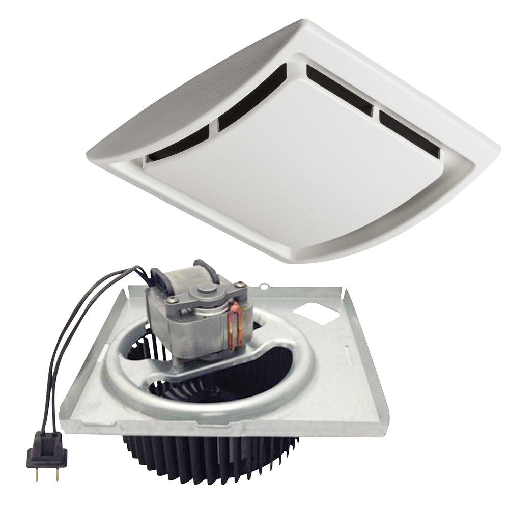 NuTone® 60 CFM Quick Install Bathroom Exhaust Fan Motor and Grille Upgrade Kit, Single-Pack
