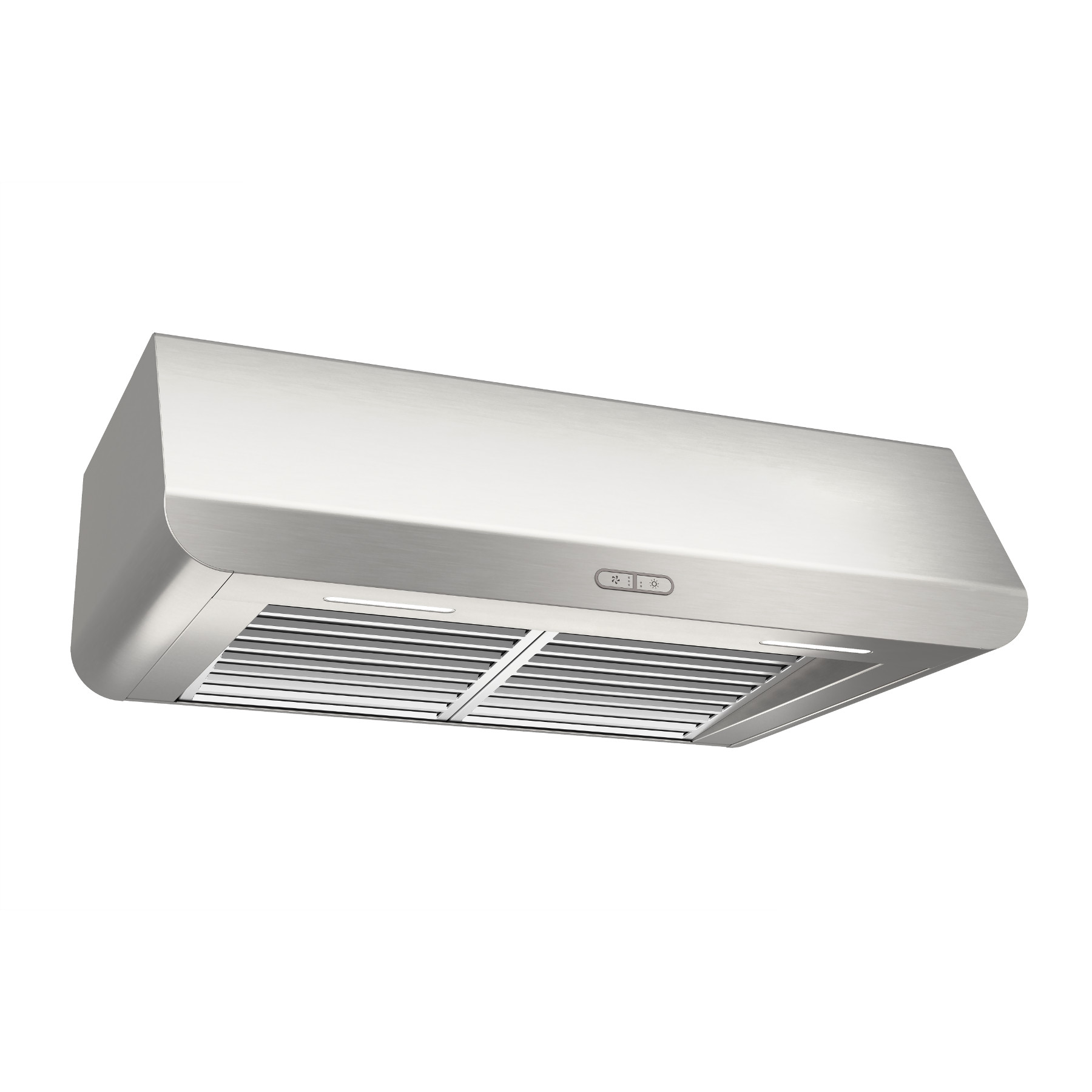 Broan® Elite 30-Inch Under-Cabinet Range Hood w/ Light, Stainless Steel
