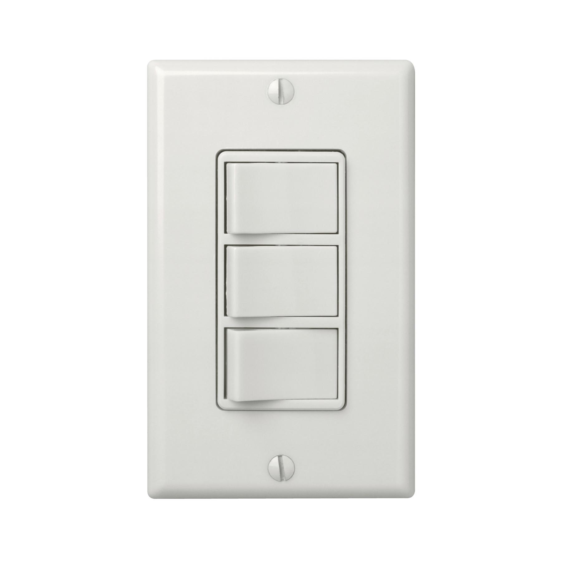 77dv Broan Nutone 3 Switch Control W, Bathroom Heater Fan Light Switch