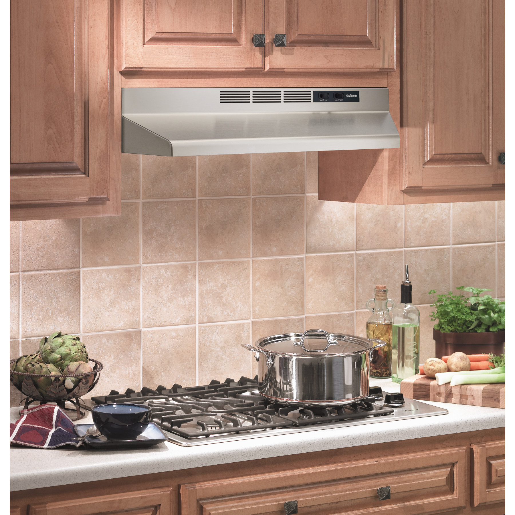 Rl6230ss Nutone 30 Ductless Under Cabinet Range Hood W Light Stainless Steel