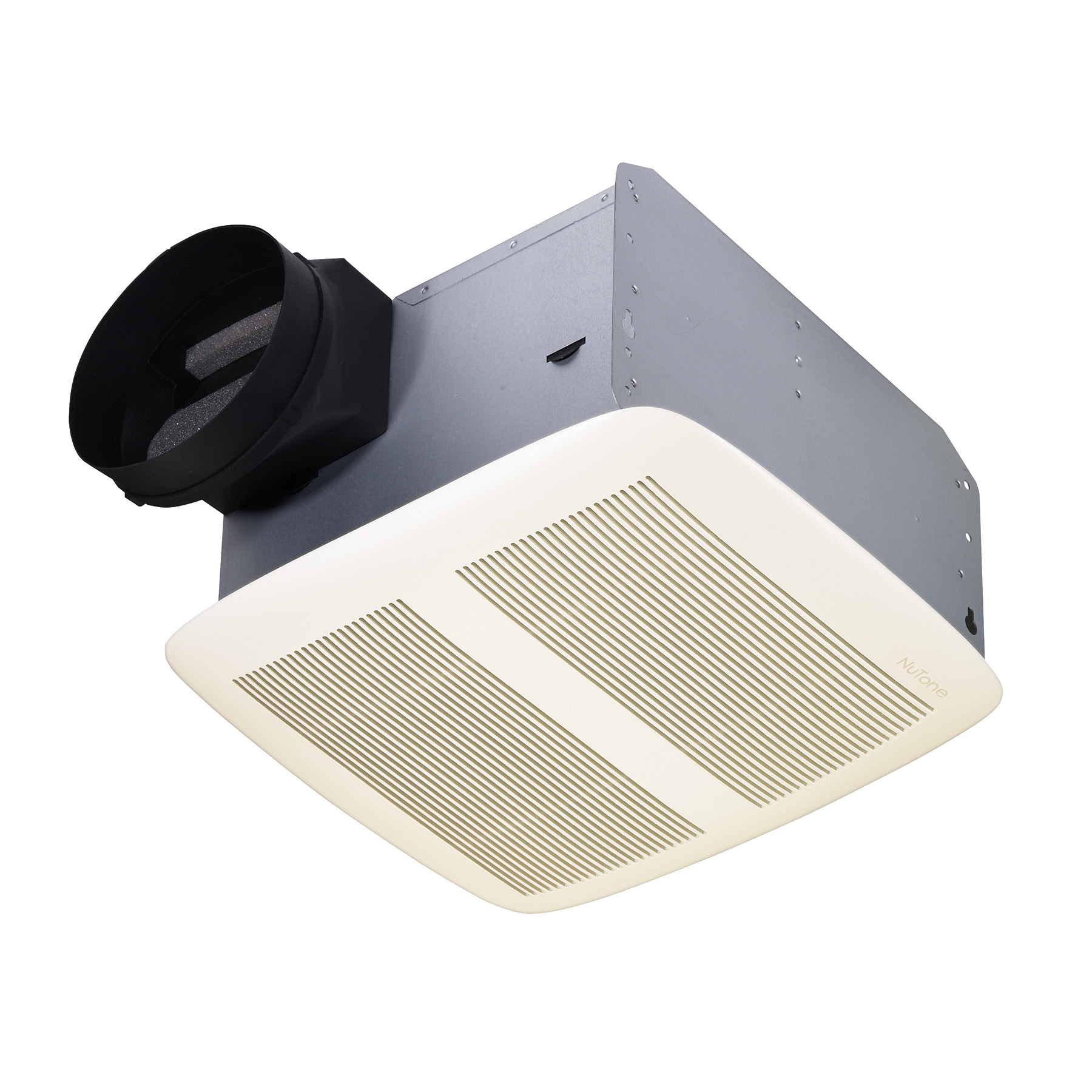 NuTone® QTXE 80 CFM Ventilation Fan with White Grille, 0.3 Sones; ENERGY STAR®