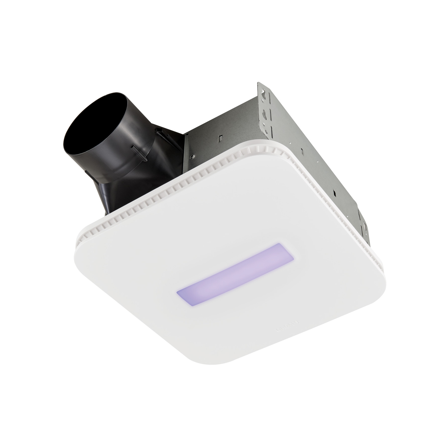 Broan® SurfaceShield™ Exhaust Fan w/ LED and Vyv™ Antimicrobial Virus Killing Violet Light, 110 CFM