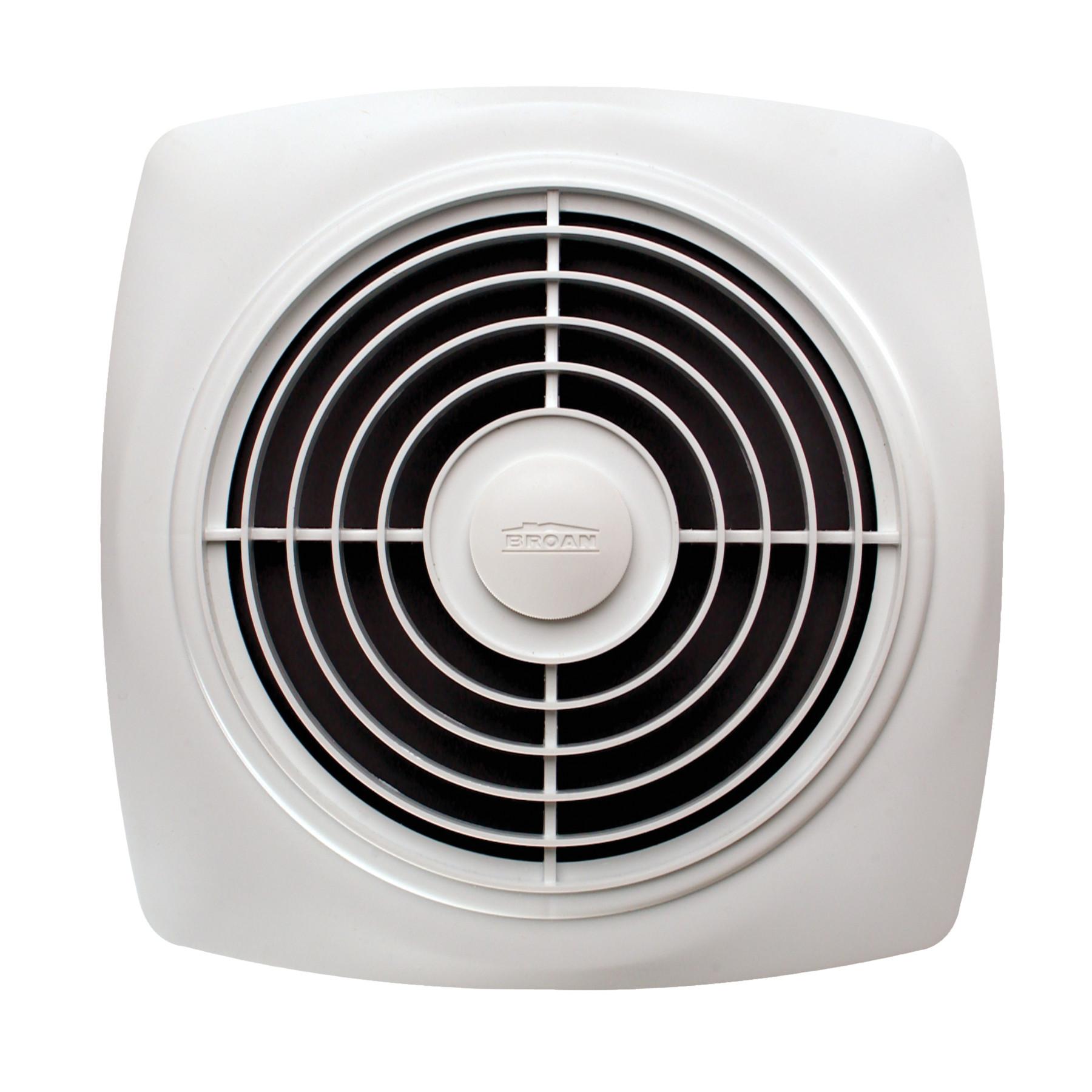 8-Inch 250 CFM 7.0 Sones Broan 507 Chain Operated Utility Fan