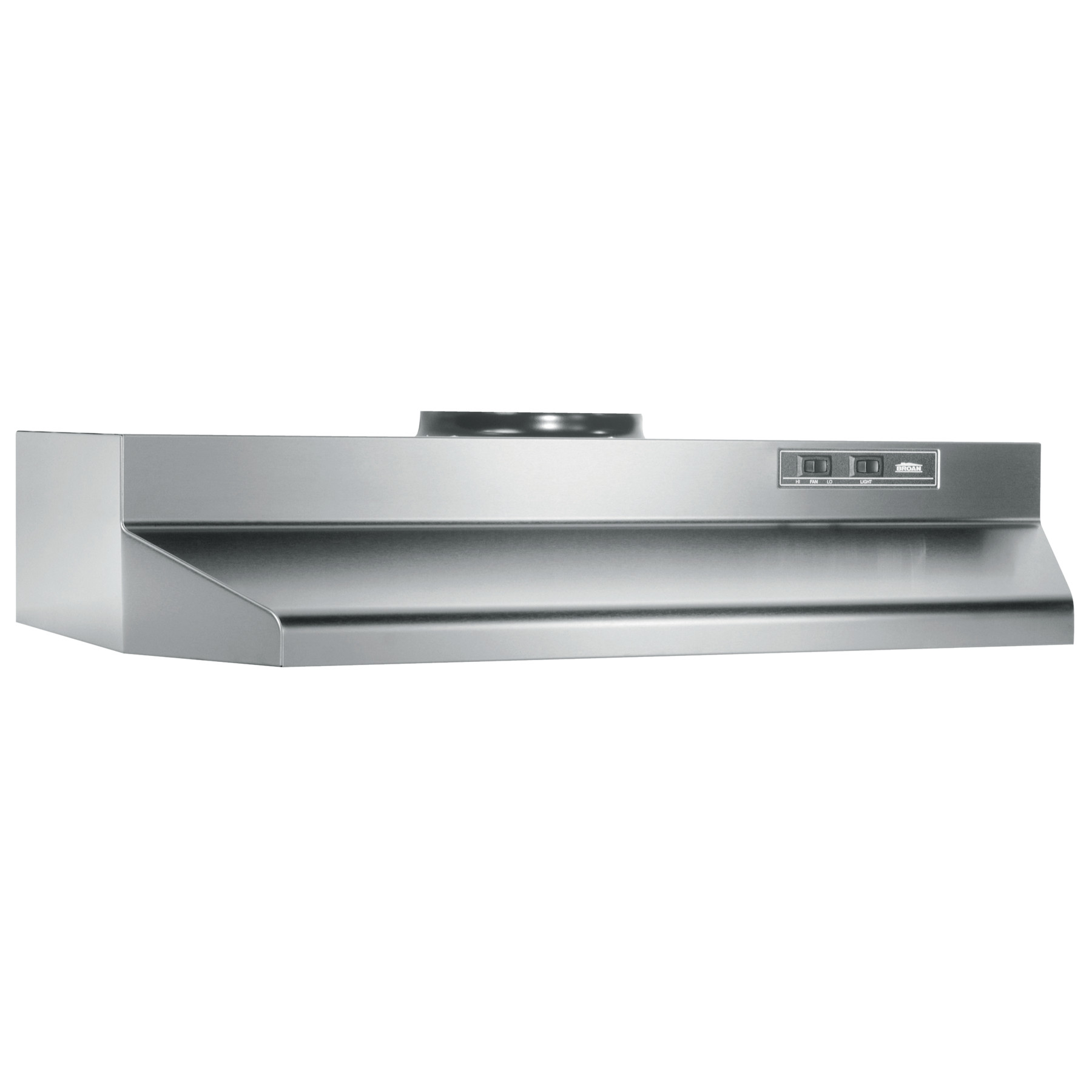 424204 Broan 42 Inch Under Cabinet Range Hood Stainless Steel