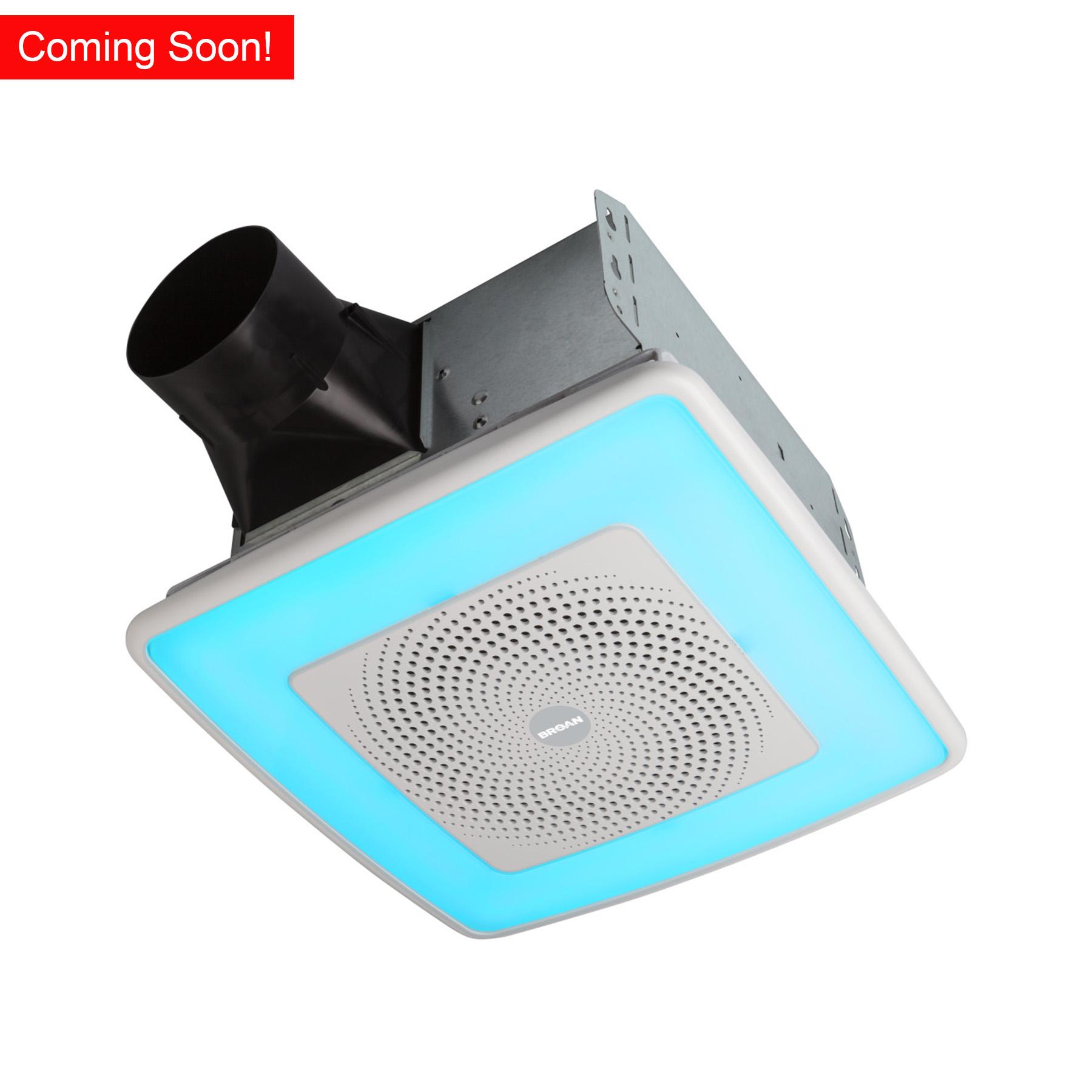 Bluetooth Fans, Nutone Bathroom Exhaust Fan With Light