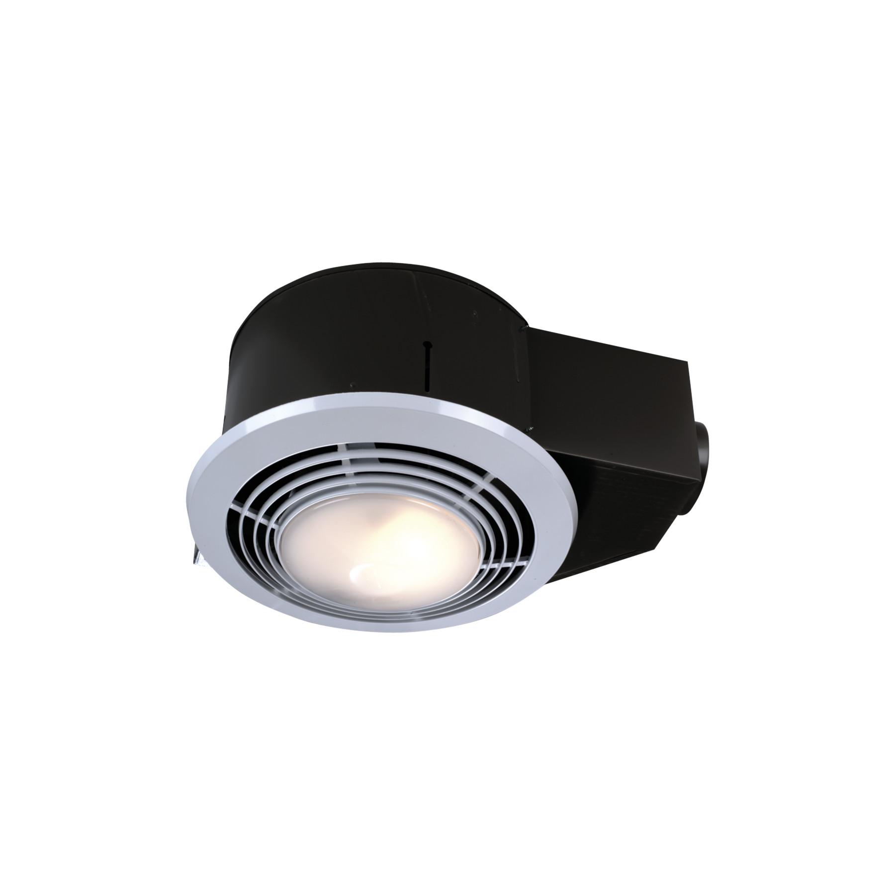 Nutone 110 Cfm Heater Ventilation Fan, Bathroom Vent Heater Light Combo