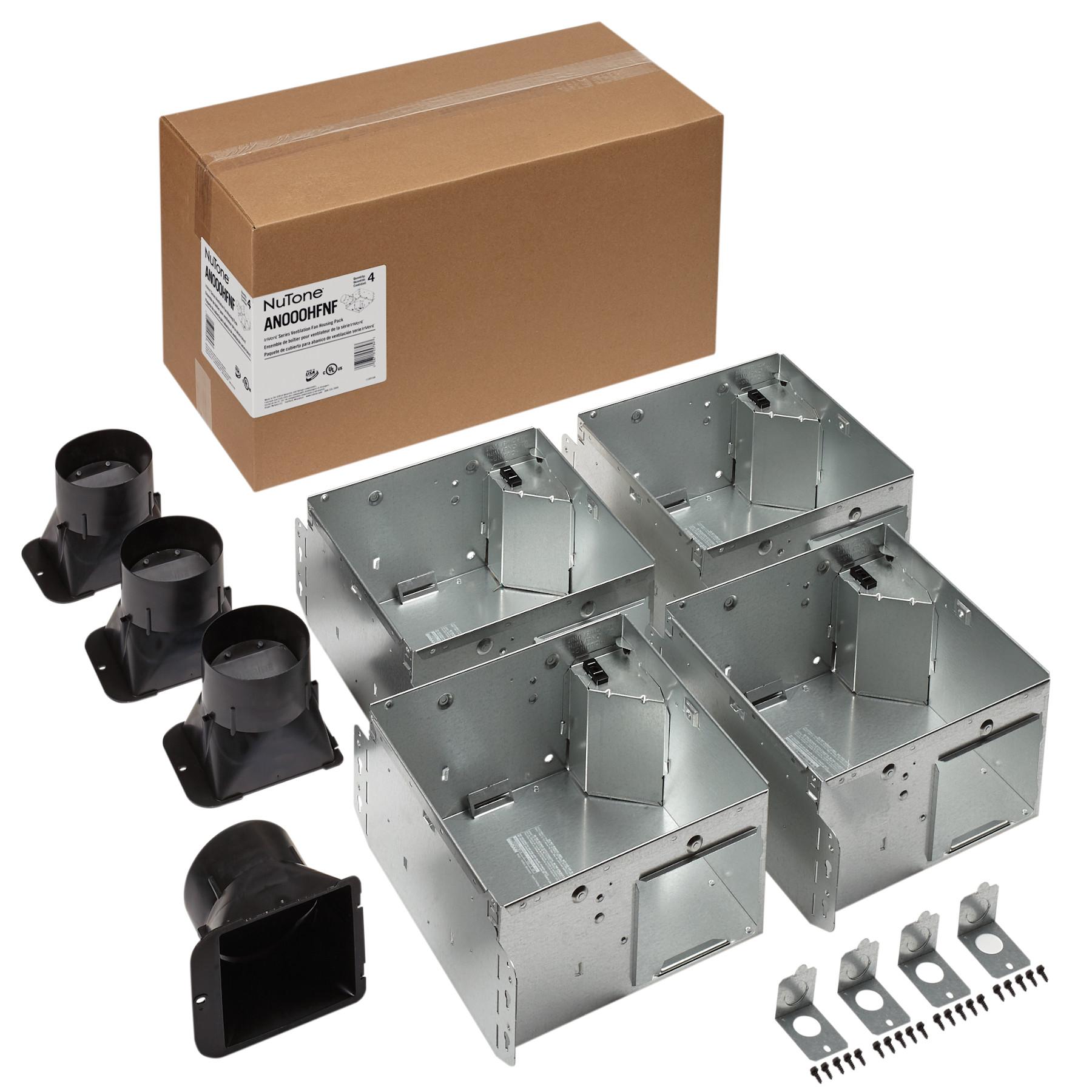 NuTone® Flex Series Ventilation Fan Housing Pack without Flange Kit