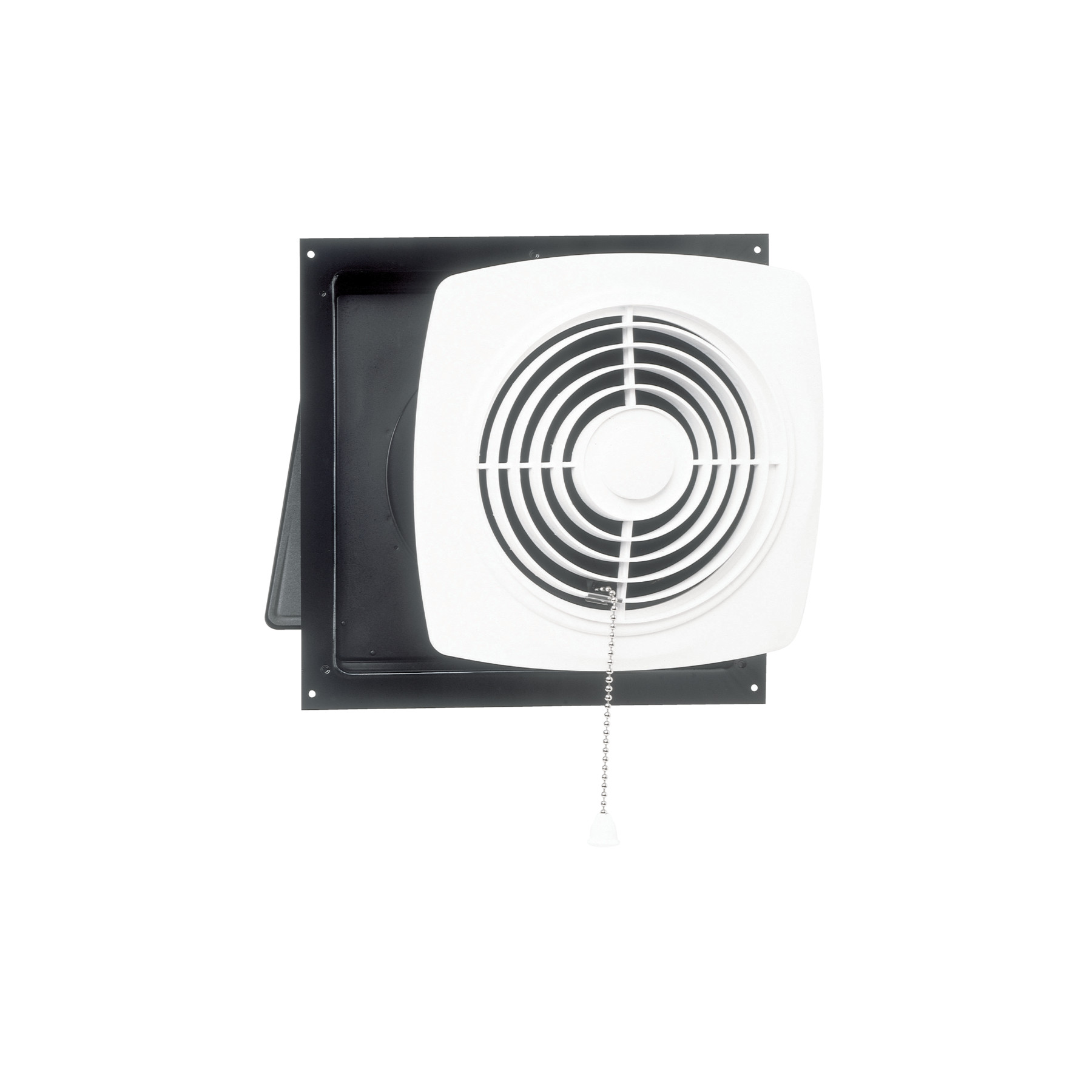 Broan® 10-Inch Chain-Operated Wall Exhaust Vent Fan, 430 CFM