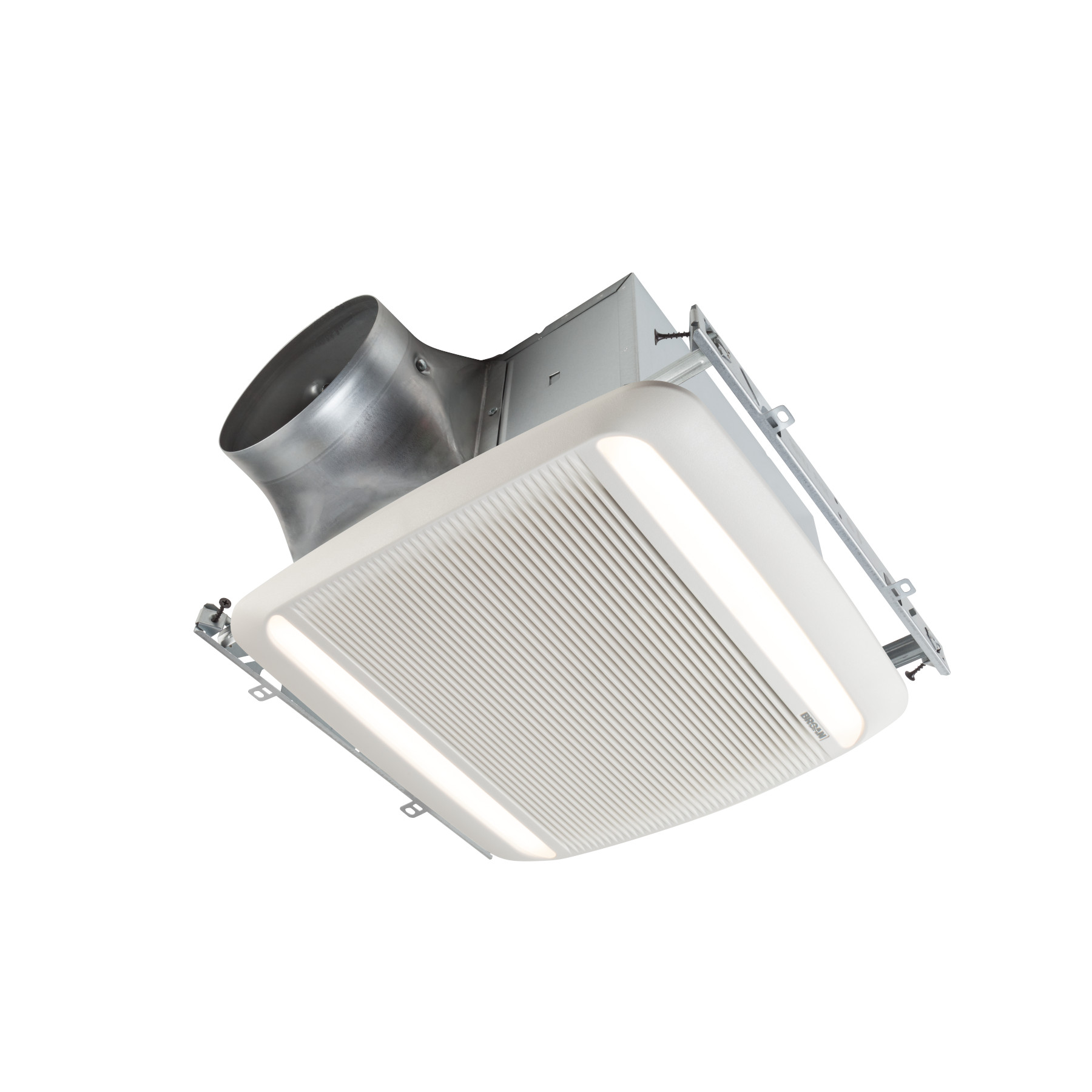 Rb110l1 Broan Ultra Pro Series 110 Cfm Ventilation Fan Led Light 0 8 Sones Energy Star Certified