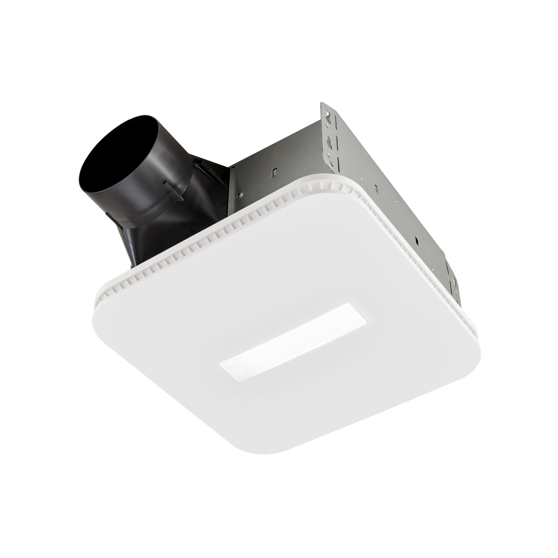 Aern110dcsl Nutone Roomside Dc Series 110 Cfm 0 9 Sones Humidity Sensing Ventilation Fan Light With Cleancover