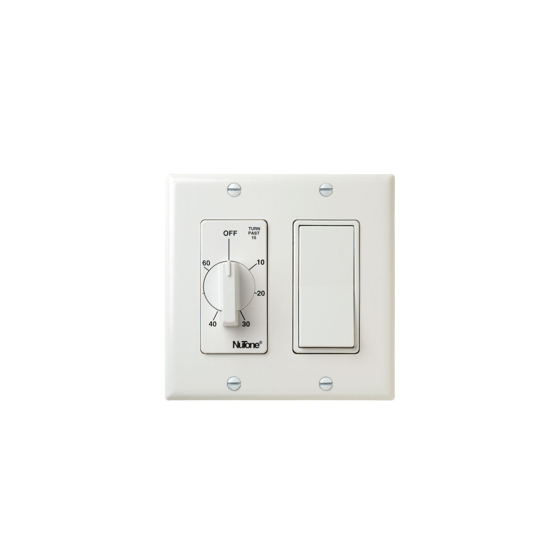 60 Min. Timer/1 On/Off Switch (White)