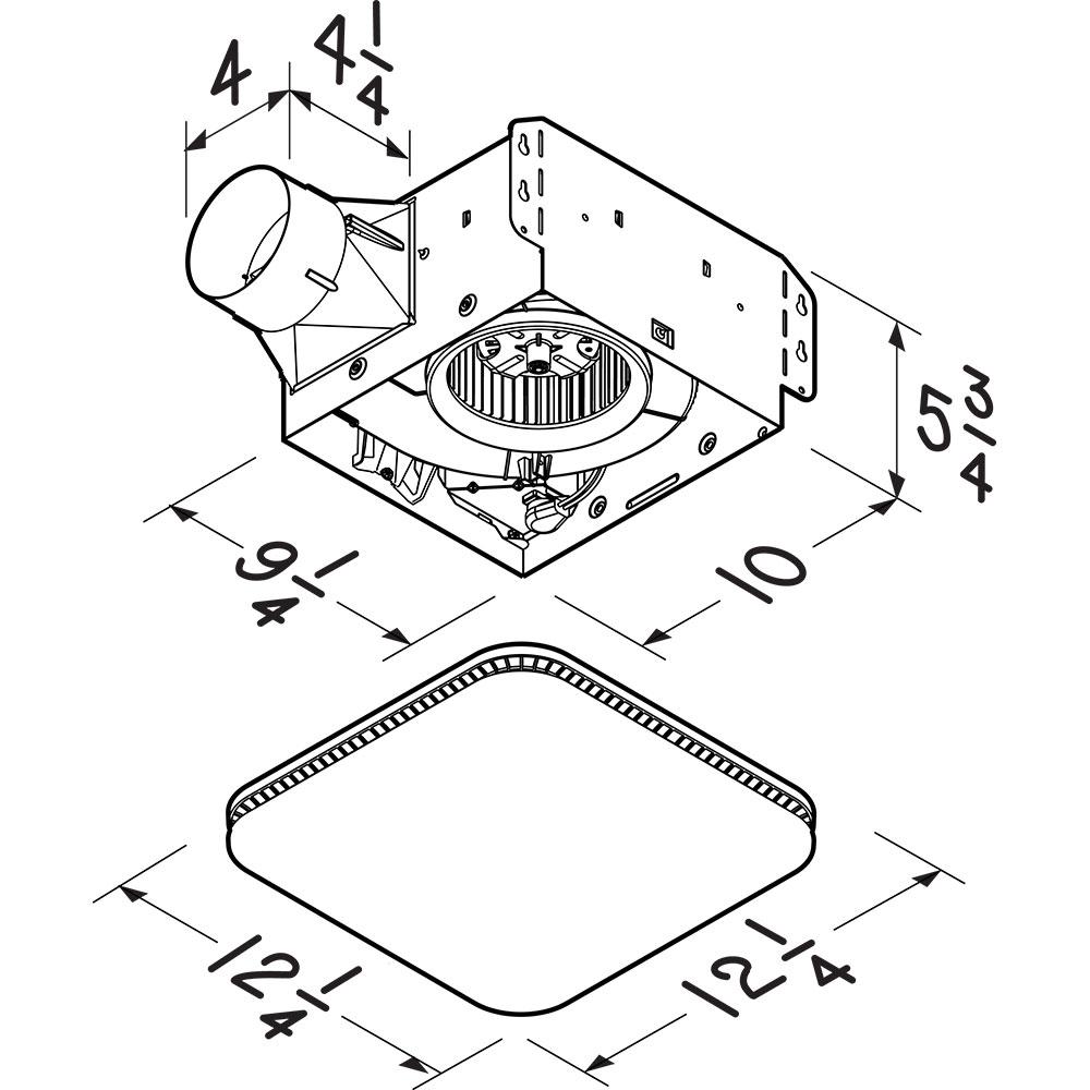 AE80K AE110K AERN80K AER110KC AERN110K Dimensional Drawing