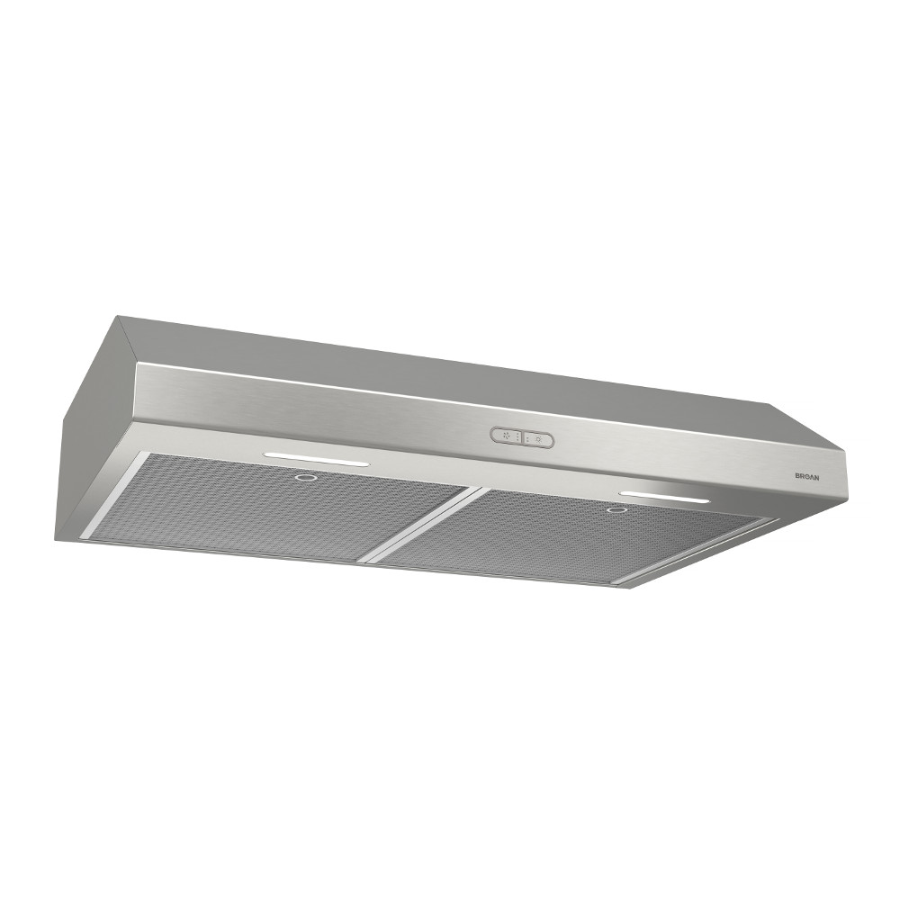 Bcdf136ss Broan Glacier 36 Inch Convertible Under Cabinet Range Hood 375 Max Blower Cfm Stainless Steel