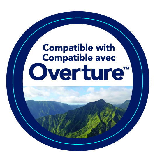 Compatible with Overture™ Connected IAQ System