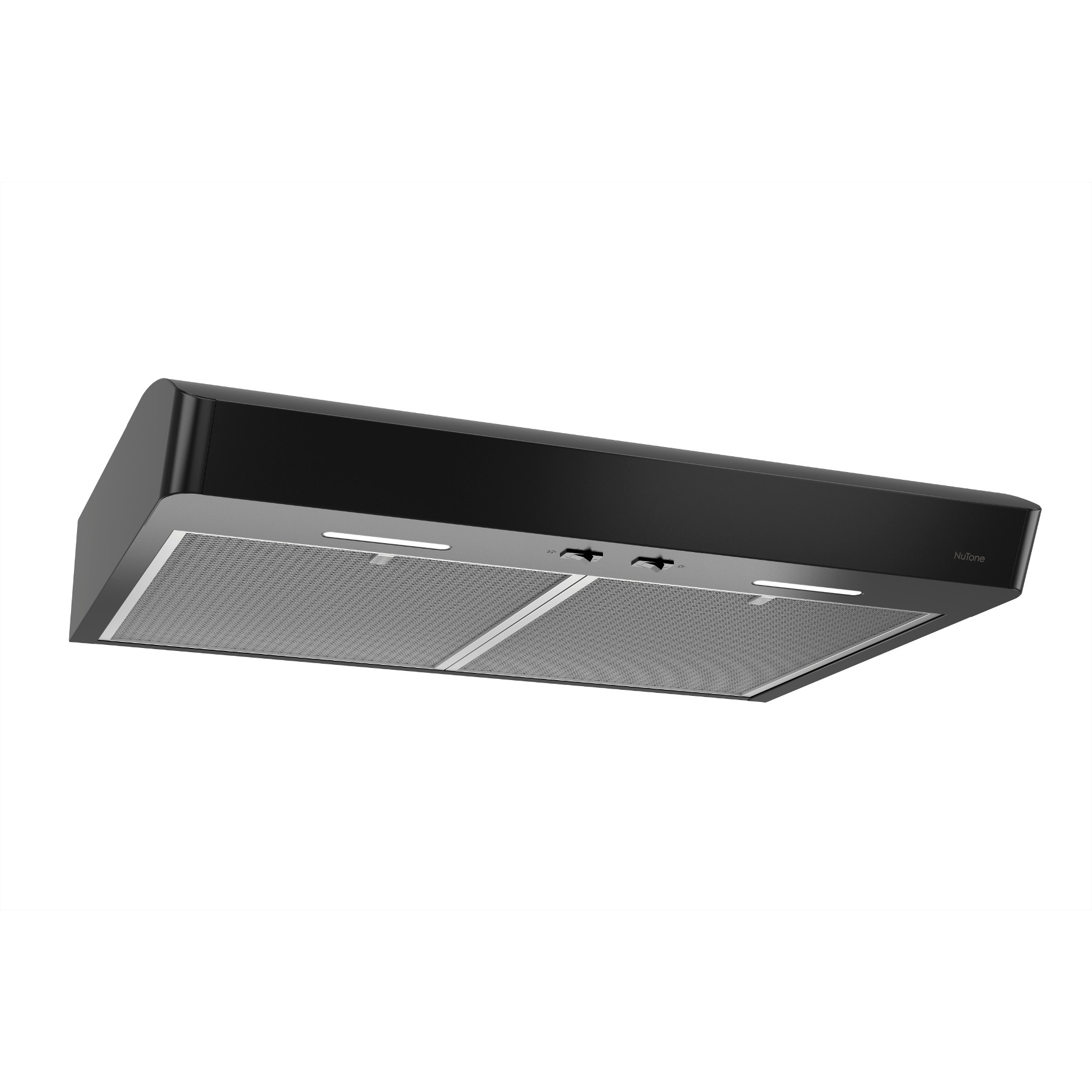 Mantra 30-Inch Convertible Under-Cabinet Range Hood, 300 CFM, Black