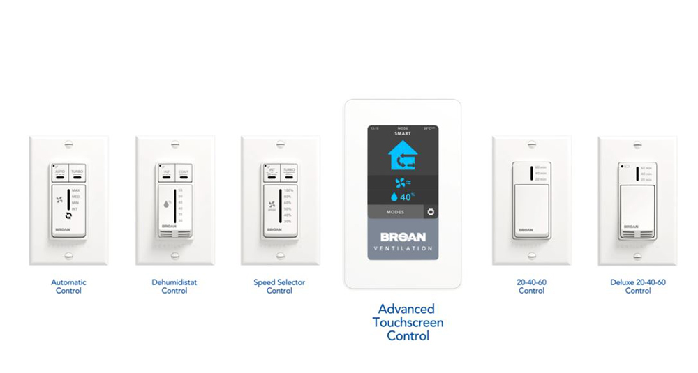 AI Series Fresh Air Systems Wall Controls