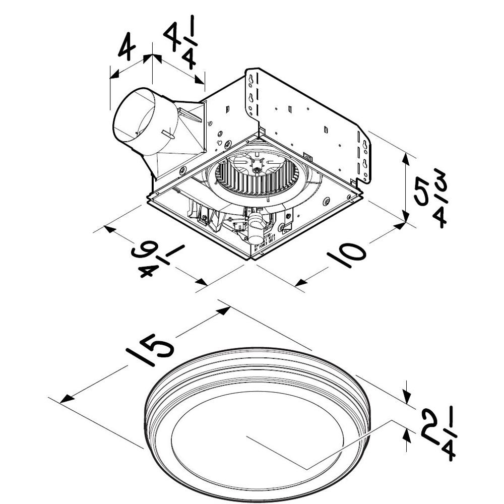 Dimensional Drawing AER110SLW, AERN110SLW, AER80LWH, AR80LWH, AERN80LWH