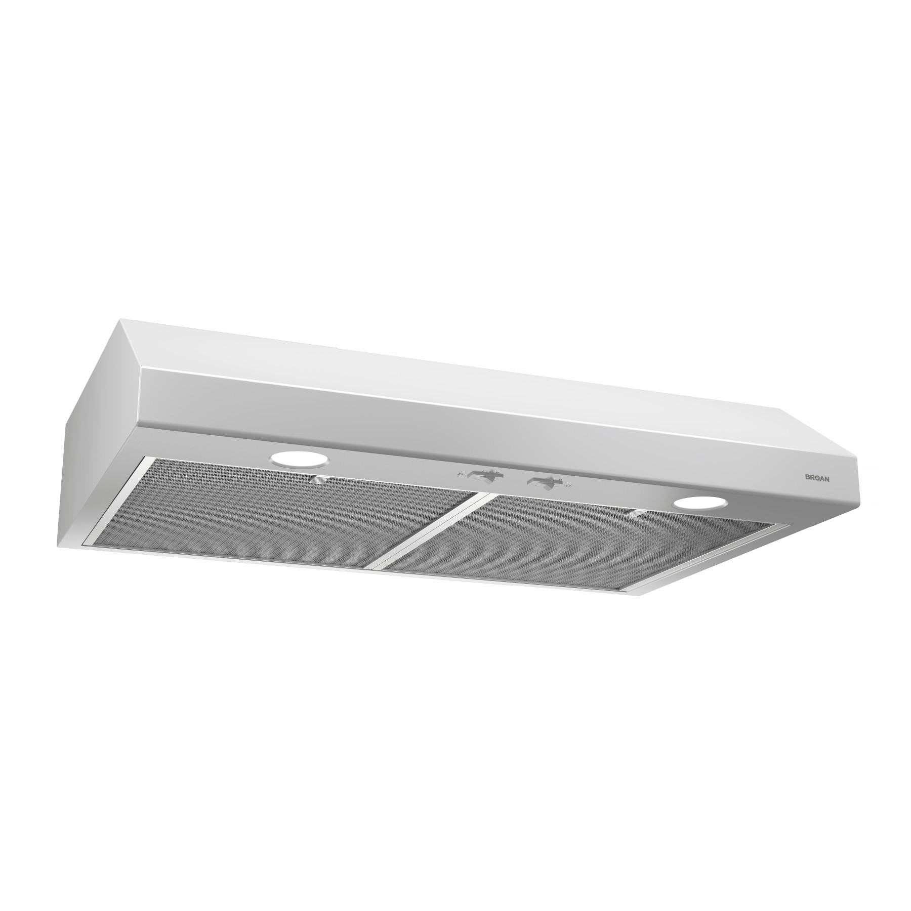 Bcsd124ww Broan 24 Inch Convertible Under Cabinet Range Hood White