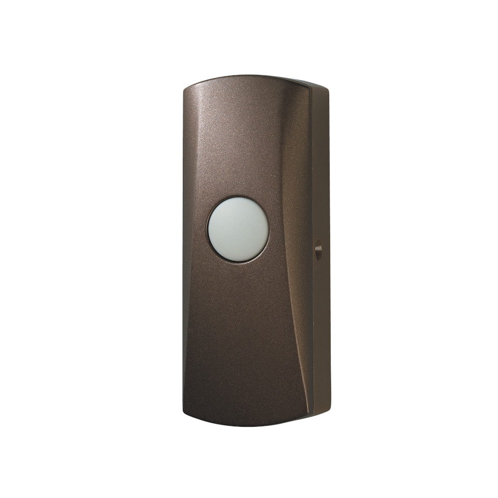 Wireless Unlighted Oil Rubbed Bronze Pushbutton
