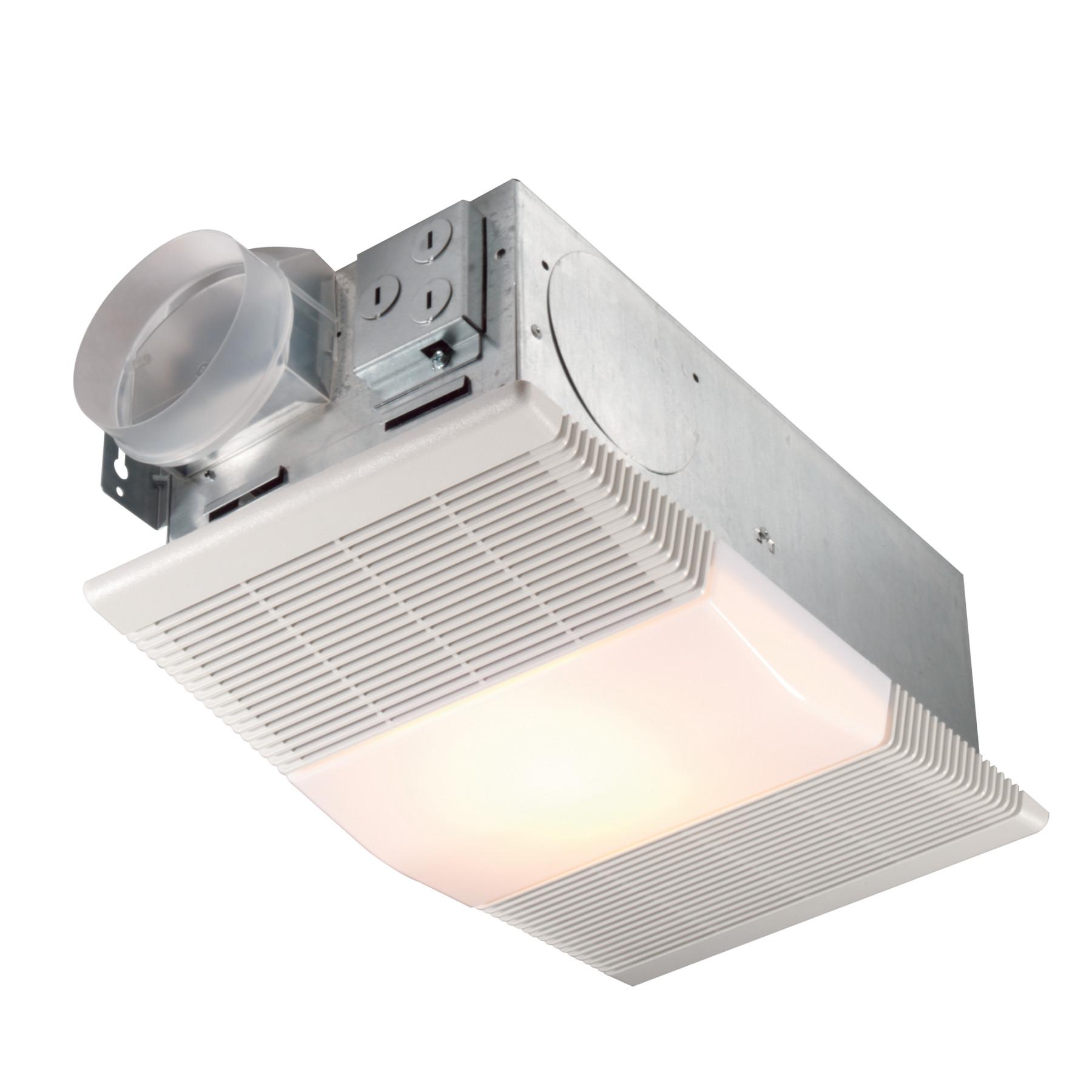 665rp Nutone Heater Fan Light 70 Cfm, Bathroom Light Fan Heater