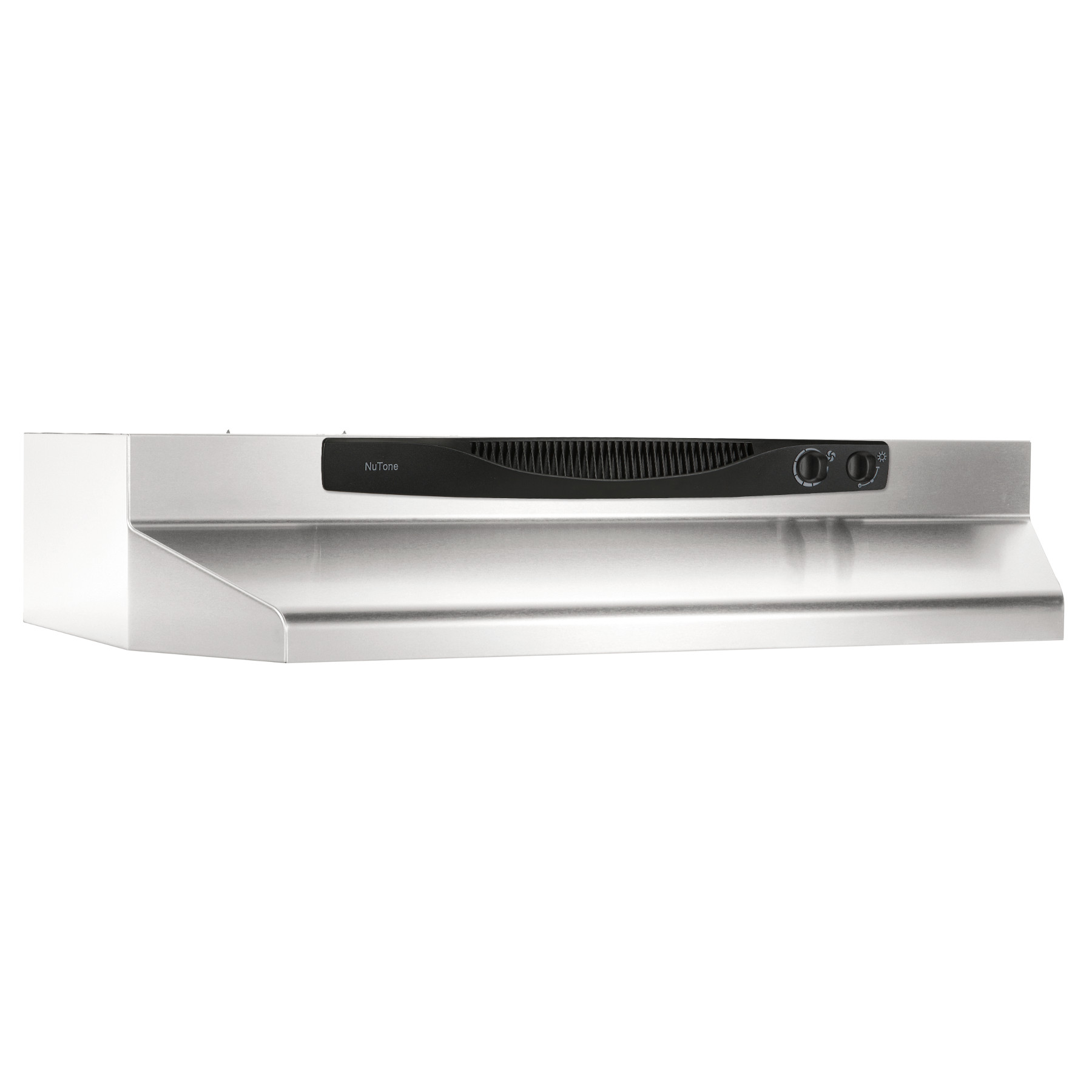 Acs30ss Nutone 30 Inch Convertible Under Cabinet Range Hood 220 Cfm Stainless Steel