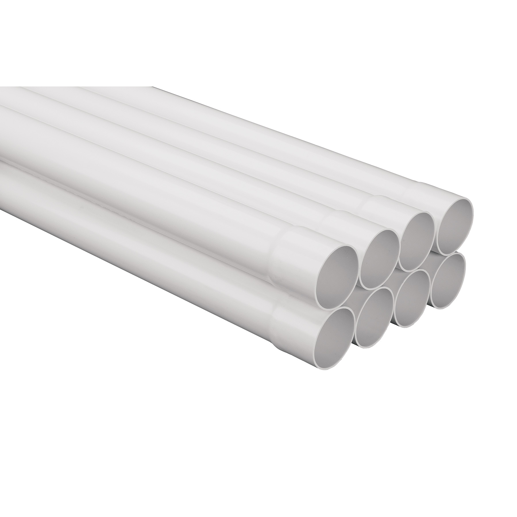 """2/"""" x 10/' Central Vacuum System PVC Pipe"""