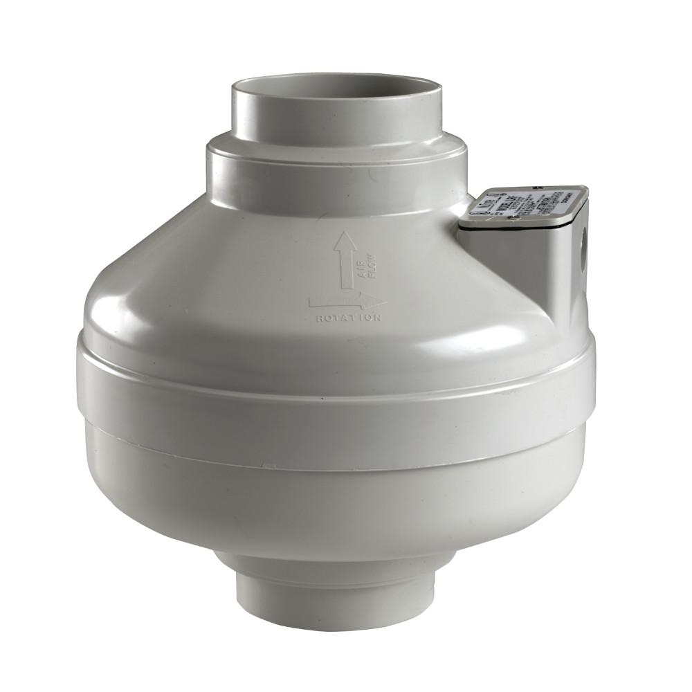 Ilrf Nutone Remote In Line Ventilation Fan For Radon Mitigation 4 Or 5 Inch Duct