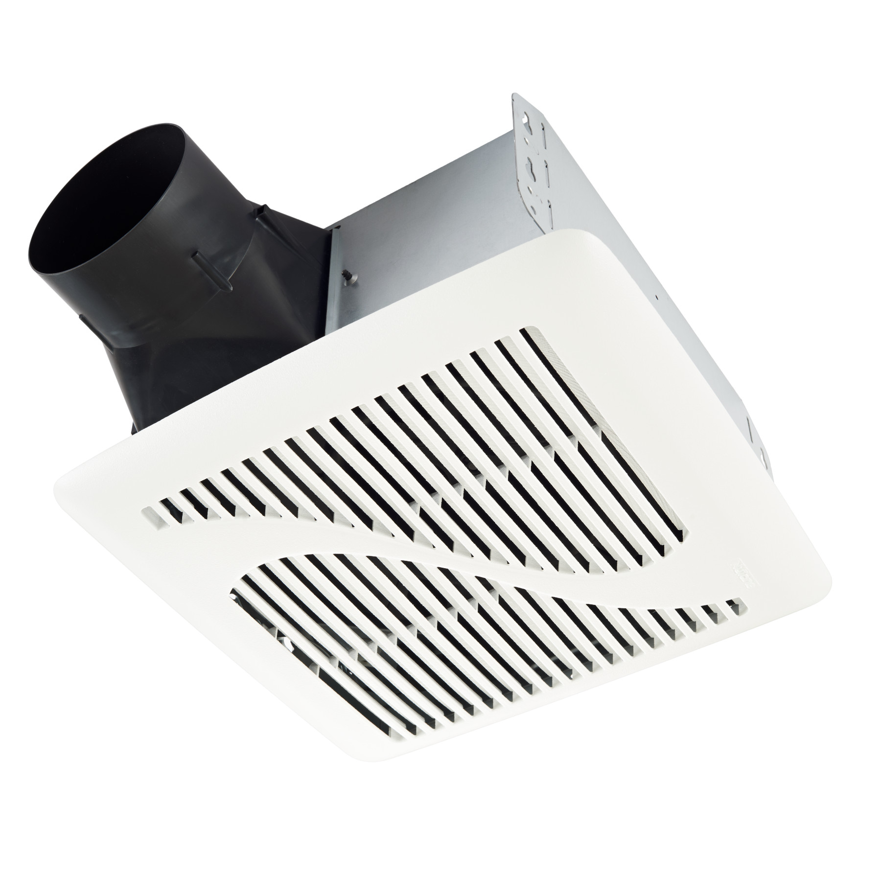 Roomside Series 110 CFM Ceiling Roomside Installation Bathroom Exhaust Fan, ENERGY STAR*