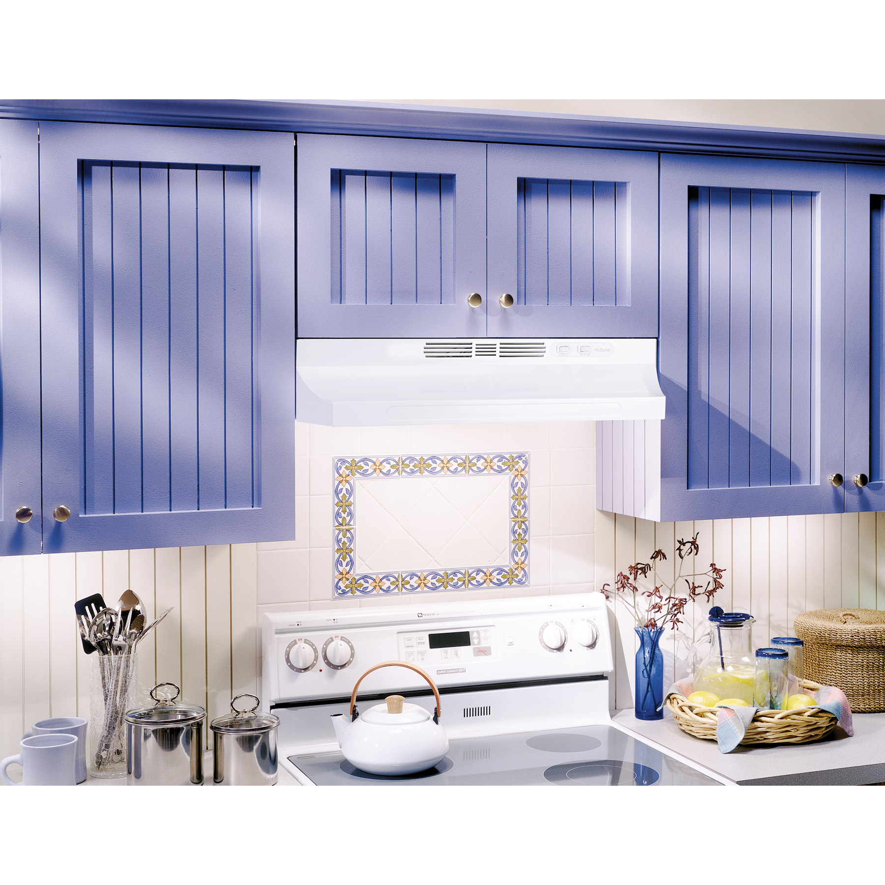 Rl6230wh Nutone 174 30 Quot Ductless Under Cabinet Range Hood W