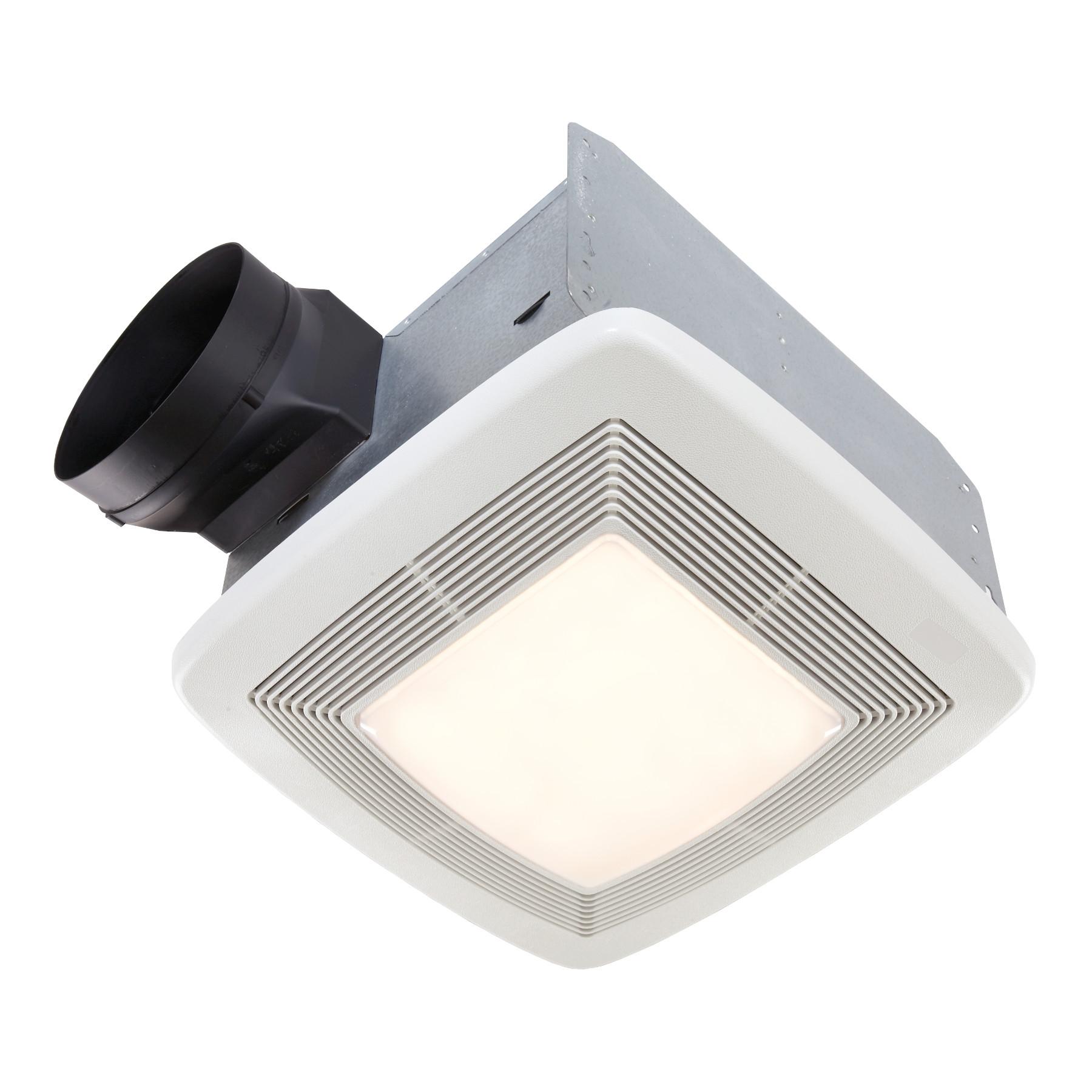 110 Cfm Ventilation Fan Light, Bathroom Exhaust Fan With Light And Nightlight