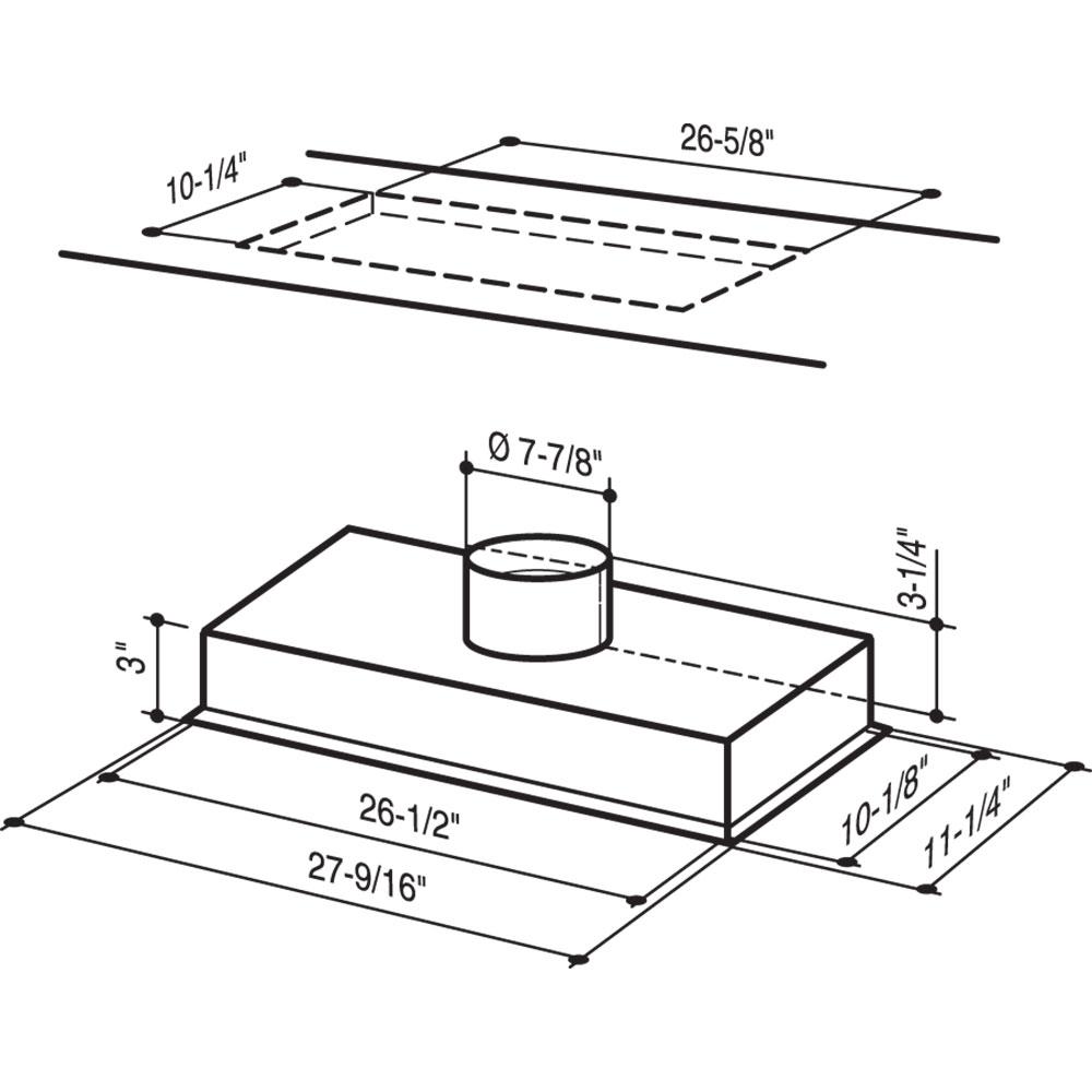 RMPE7004 | Range Hood InsertBroan-NuTone