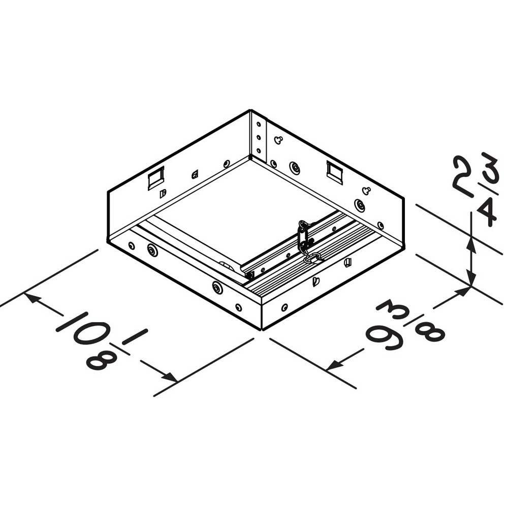 RDMWT2 Broan® Radiation Damper for InVent Series Fans