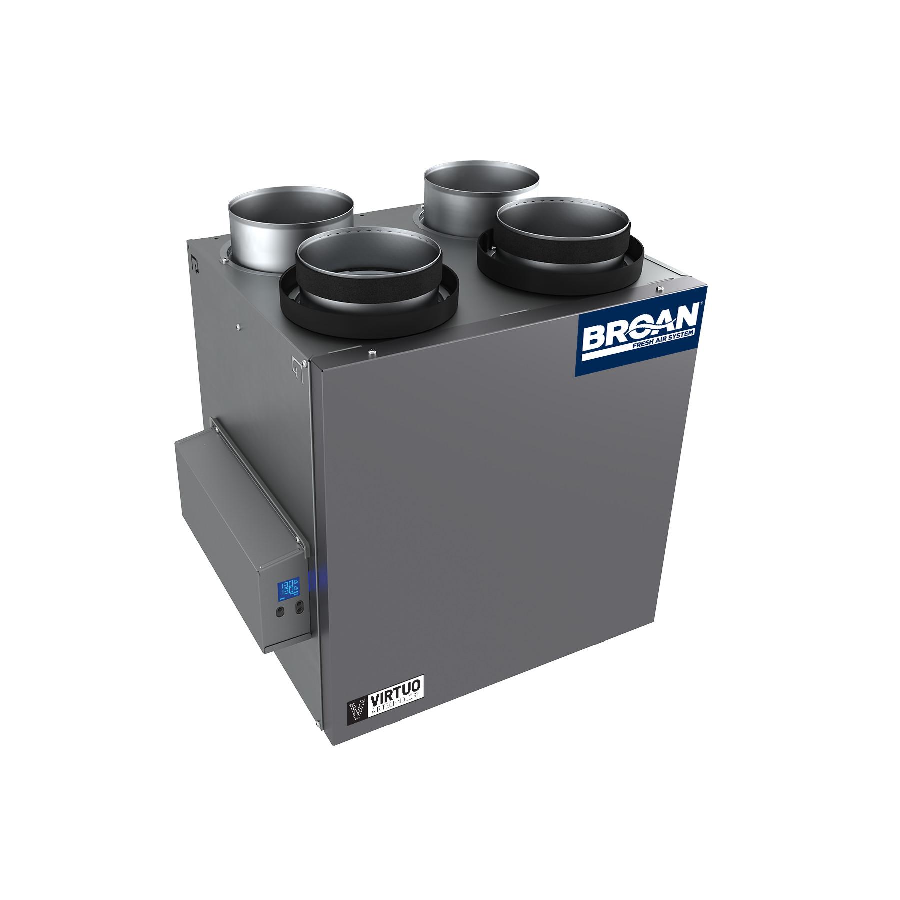 Broan® AI Series™ 160 CFM Energy Recovery Ventilator (ERV)
