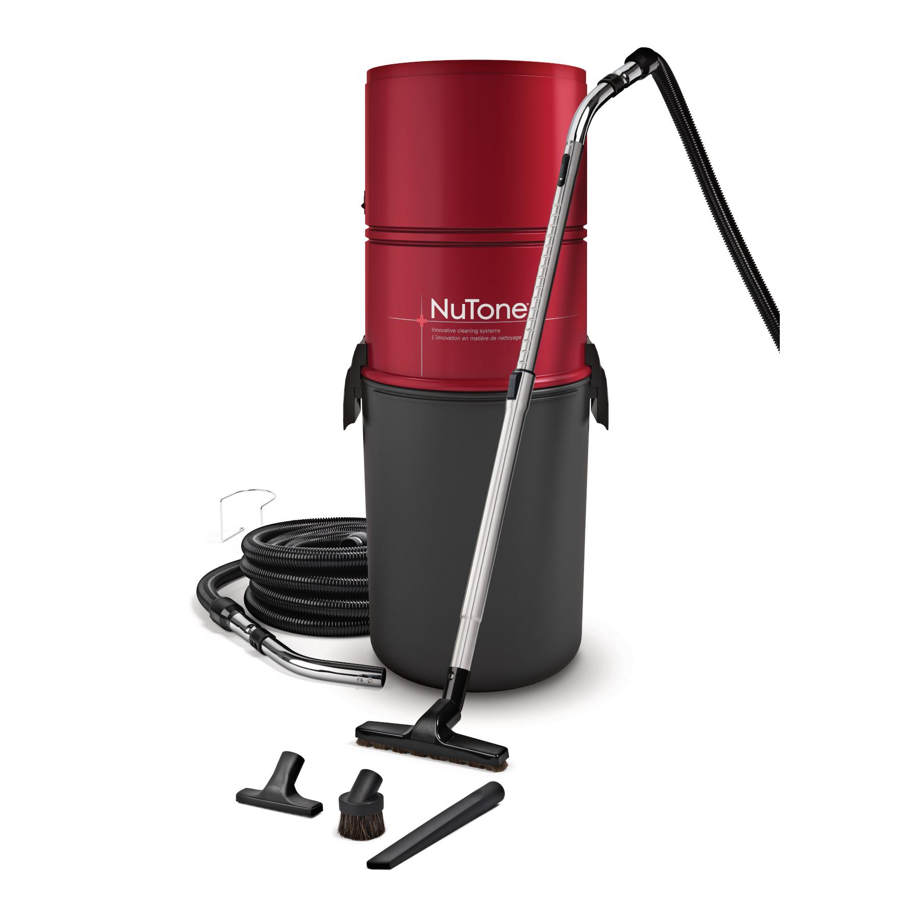 Enemble d'aspirateur central 550 air-Watts pour surfaces dures NuTone®