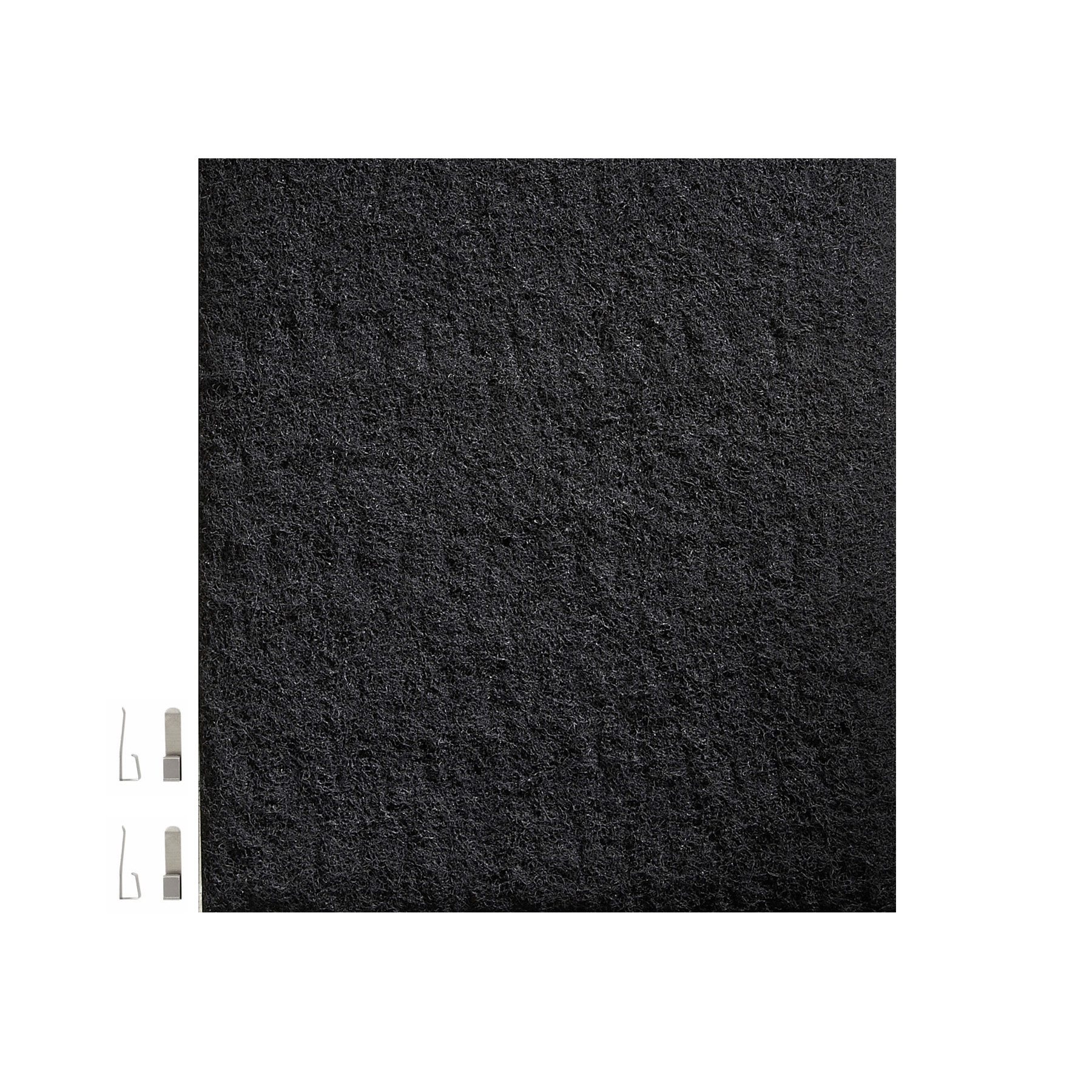 "Charcoal Replacement Filter for Broan BXT1 Series Range Hood 10.875"" x 10.5"" x 0.125"""