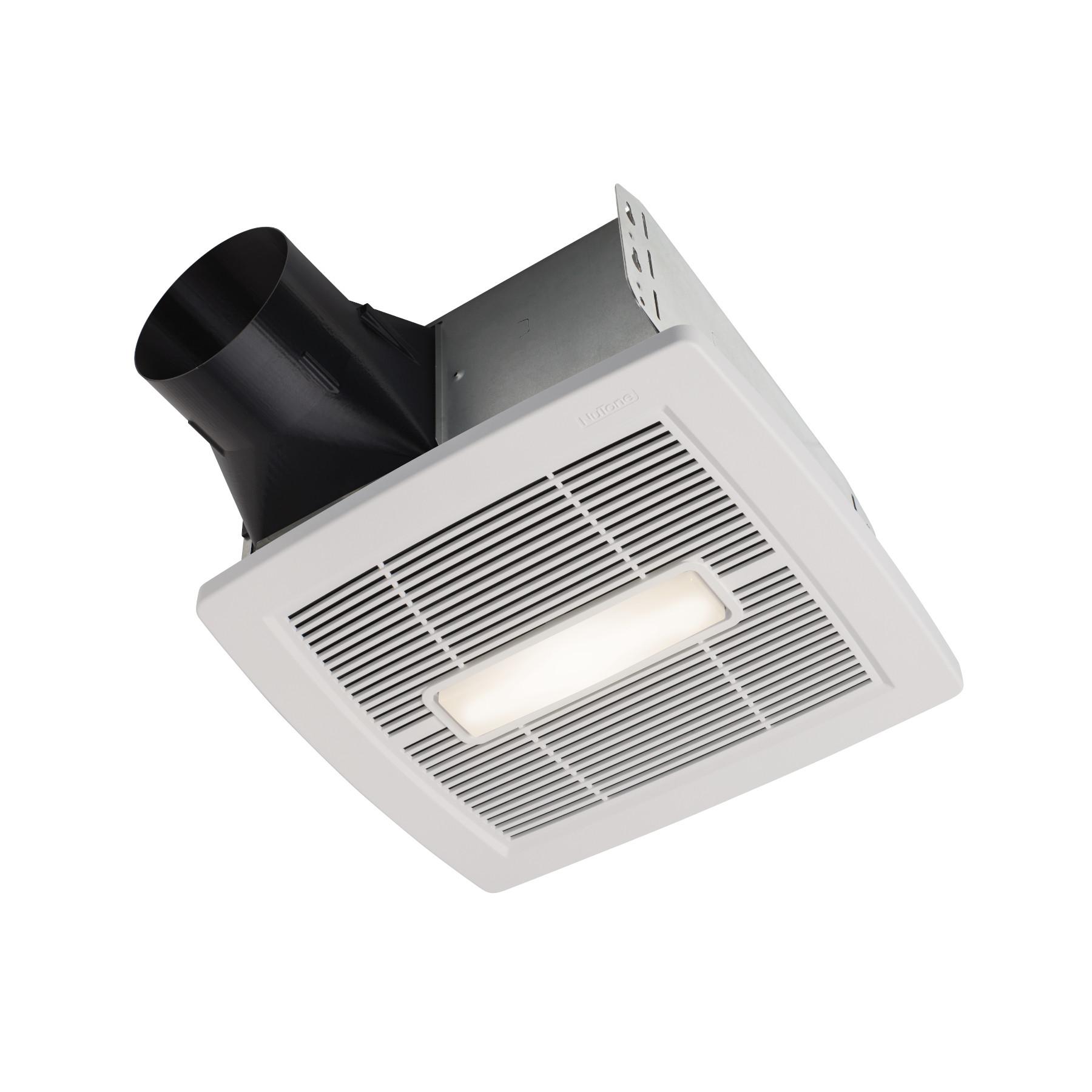 Humidity Sensing Bathroom Exhaust Fan W