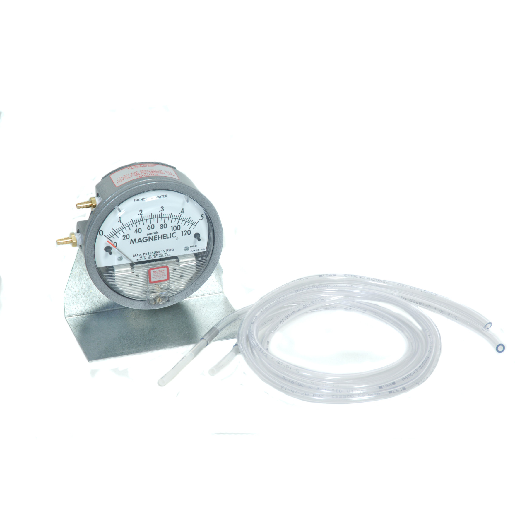 PRESSURE GAUGE .5-Inch OF WATER
