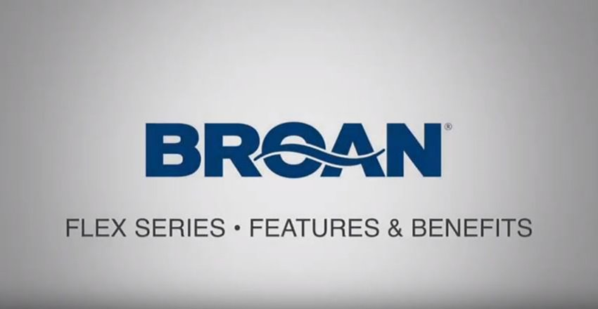 Broan FLEX Series Bathroom Ventilation Fan Features and Benefits Video