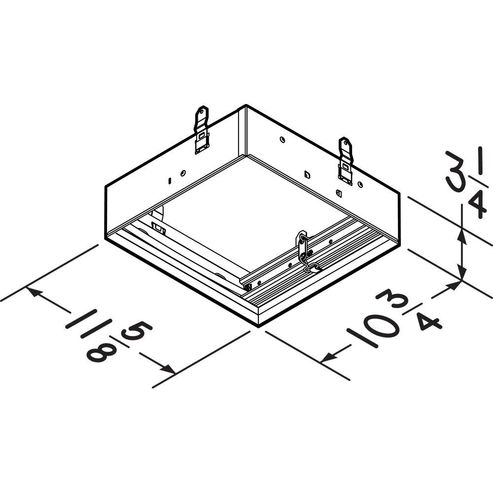 RDFU Broan® Premium Radiation Damper