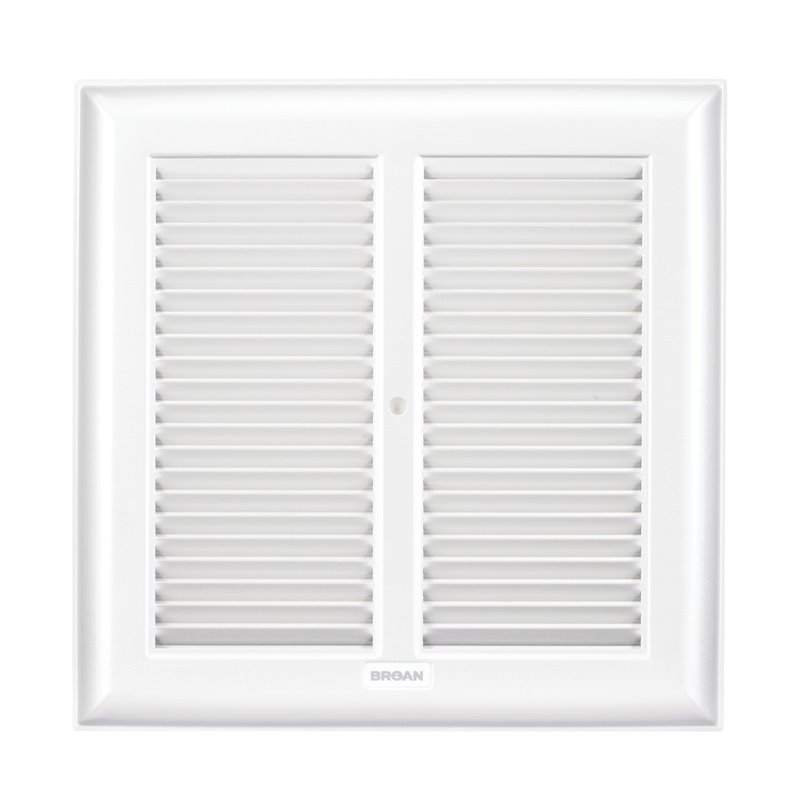 Broan-NuTone® Replacement Grille, White Metal
