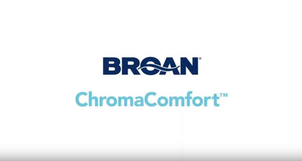 CA Broan ChromaComfort Ventilation Fan with Multicolour LEDs & Control