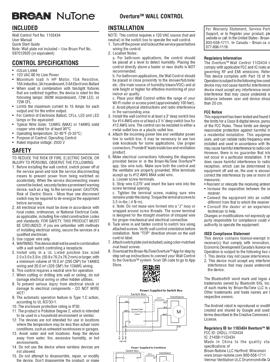 Overture Instruction Sheet
