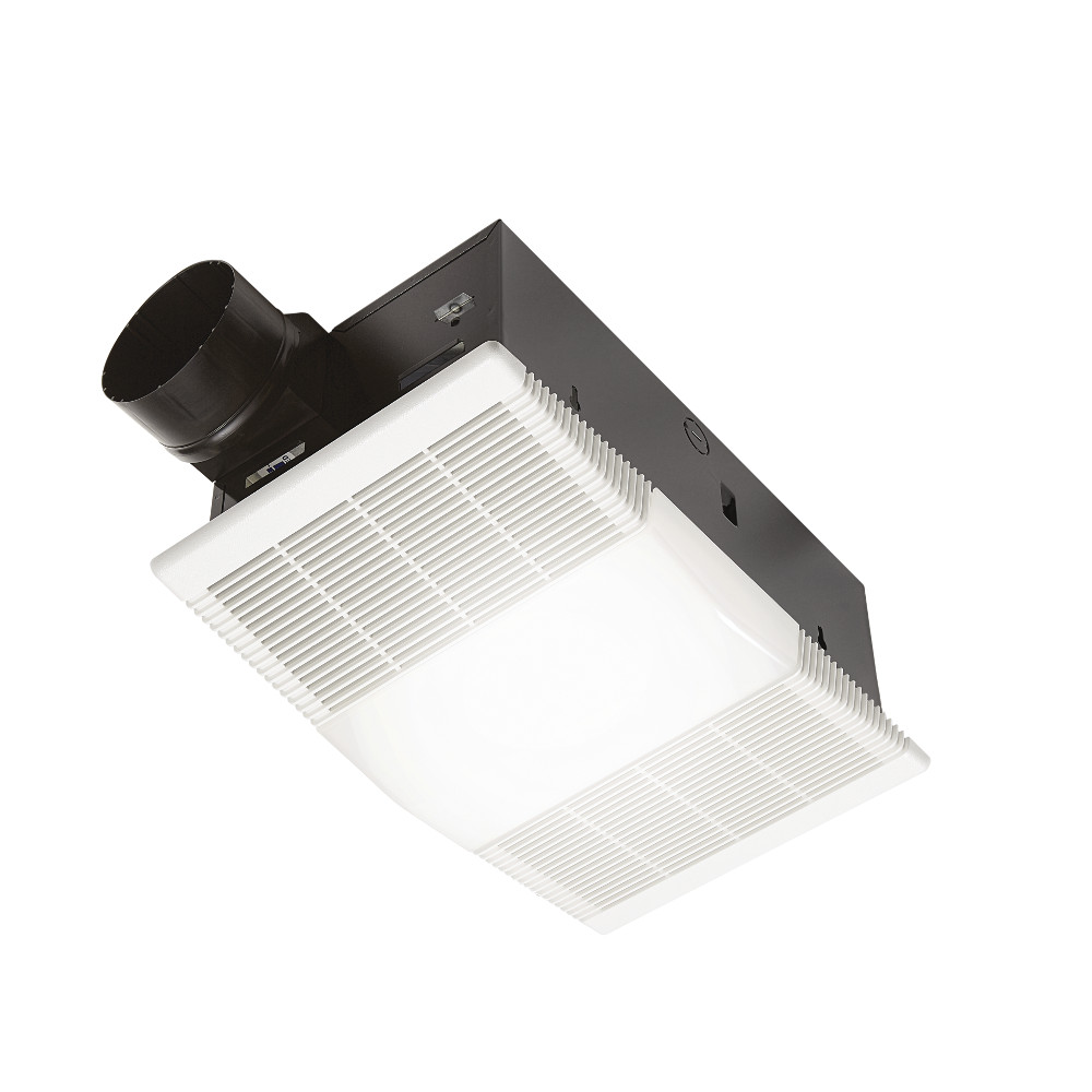 Bath And Exhaust Ventilation Fans With, Bathroom Vent Fan With Heater No Light